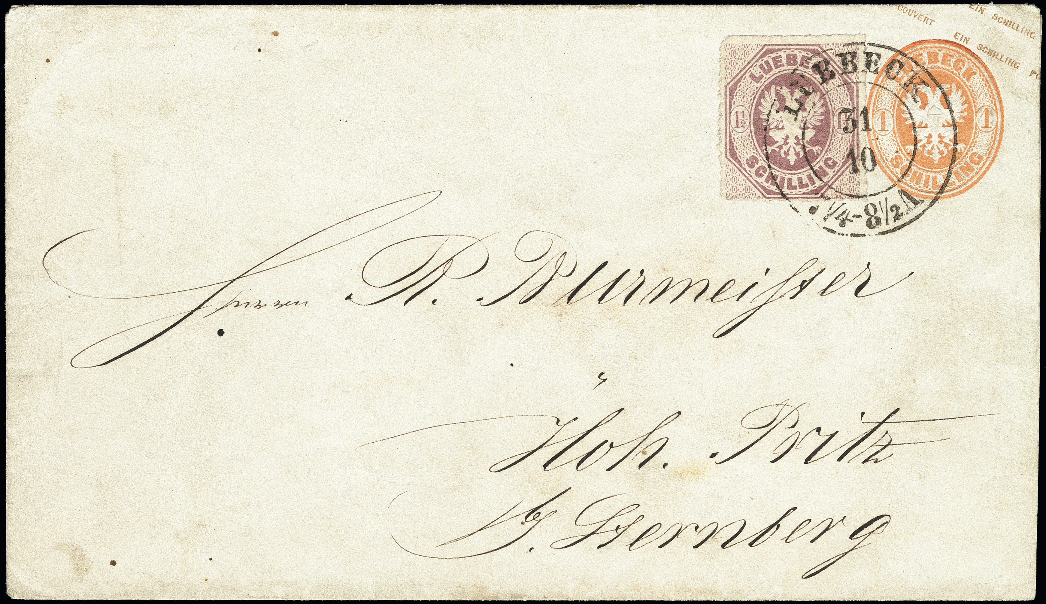 Lot 3419 - german states lübeck -  Heinrich Koehler Auktionen Heinrich Köhler Auction 376 - Day 5