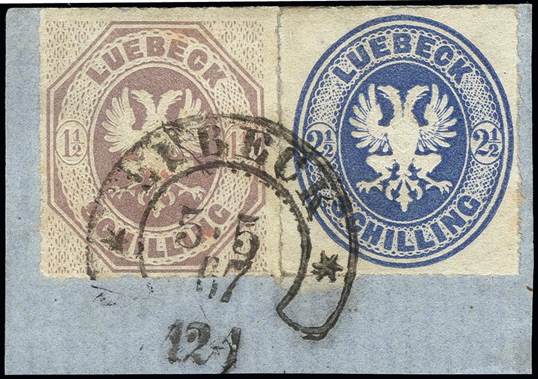 Lot 3418 - german states lübeck -  Heinrich Koehler Auktionen Heinrich Köhler Auction 376 - Day 5