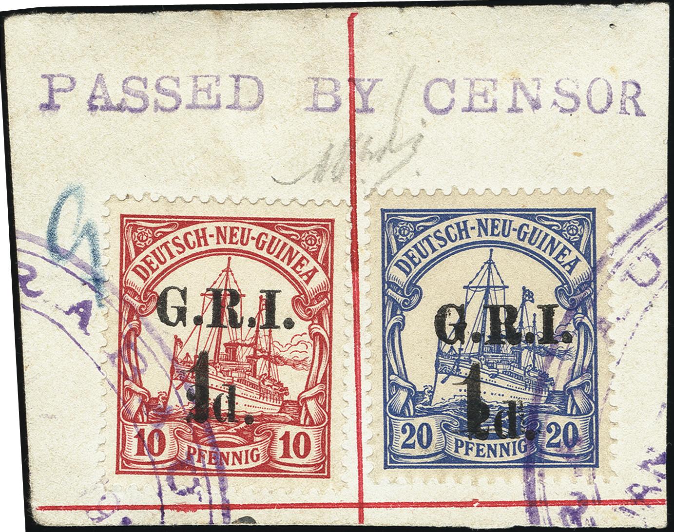 Lot 1331 - British Commonwealth new guinea -  Heinrich Koehler Auktionen Heinrich Köhler Auction 376 - Day 1
