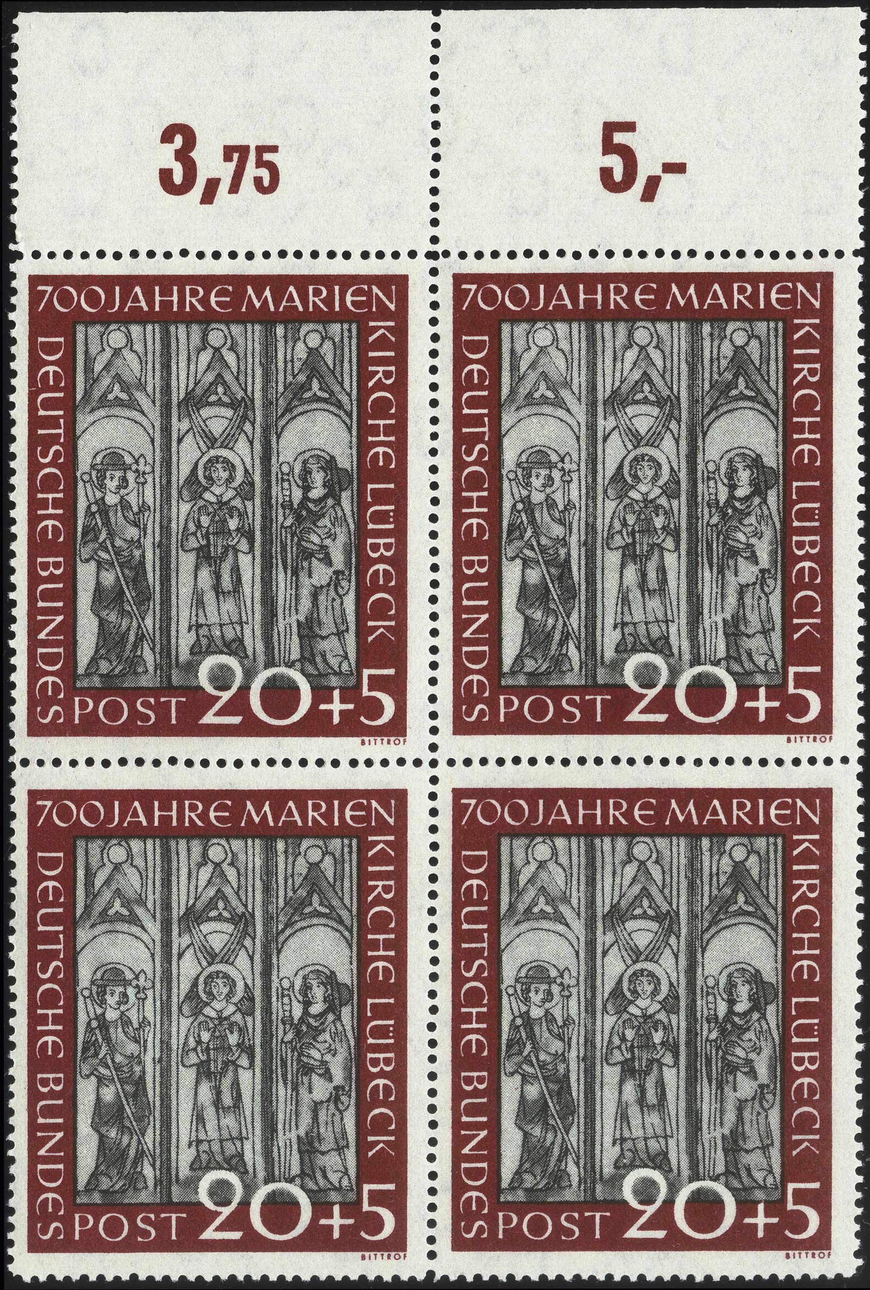 Lot 2846 - germany after 1945 federal republic of germany -  Heinrich Koehler Auktionen Heinrich Köhler Auction 376 - Day 1