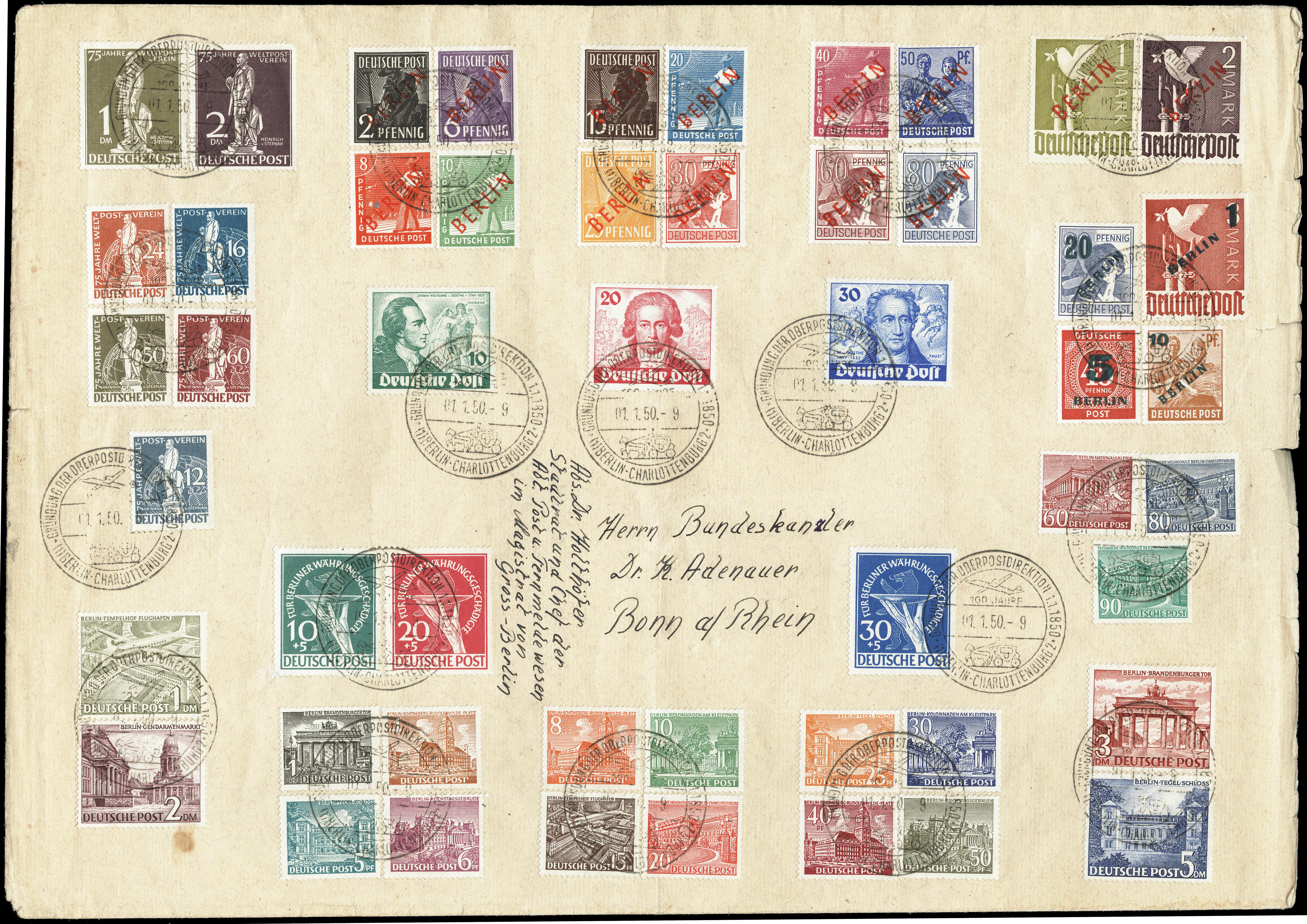 Lot 2602 - germany after 1945 berlin -  Heinrich Koehler Auktionen Heinrich Köhler Auction 376 - Day 1