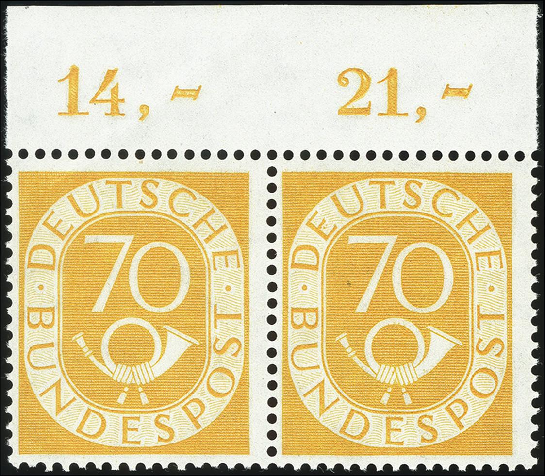 Lot 2841 - germany after 1945 federal republic of germany -  Heinrich Koehler Auktionen Heinrich Köhler Auction 376 - Day 1