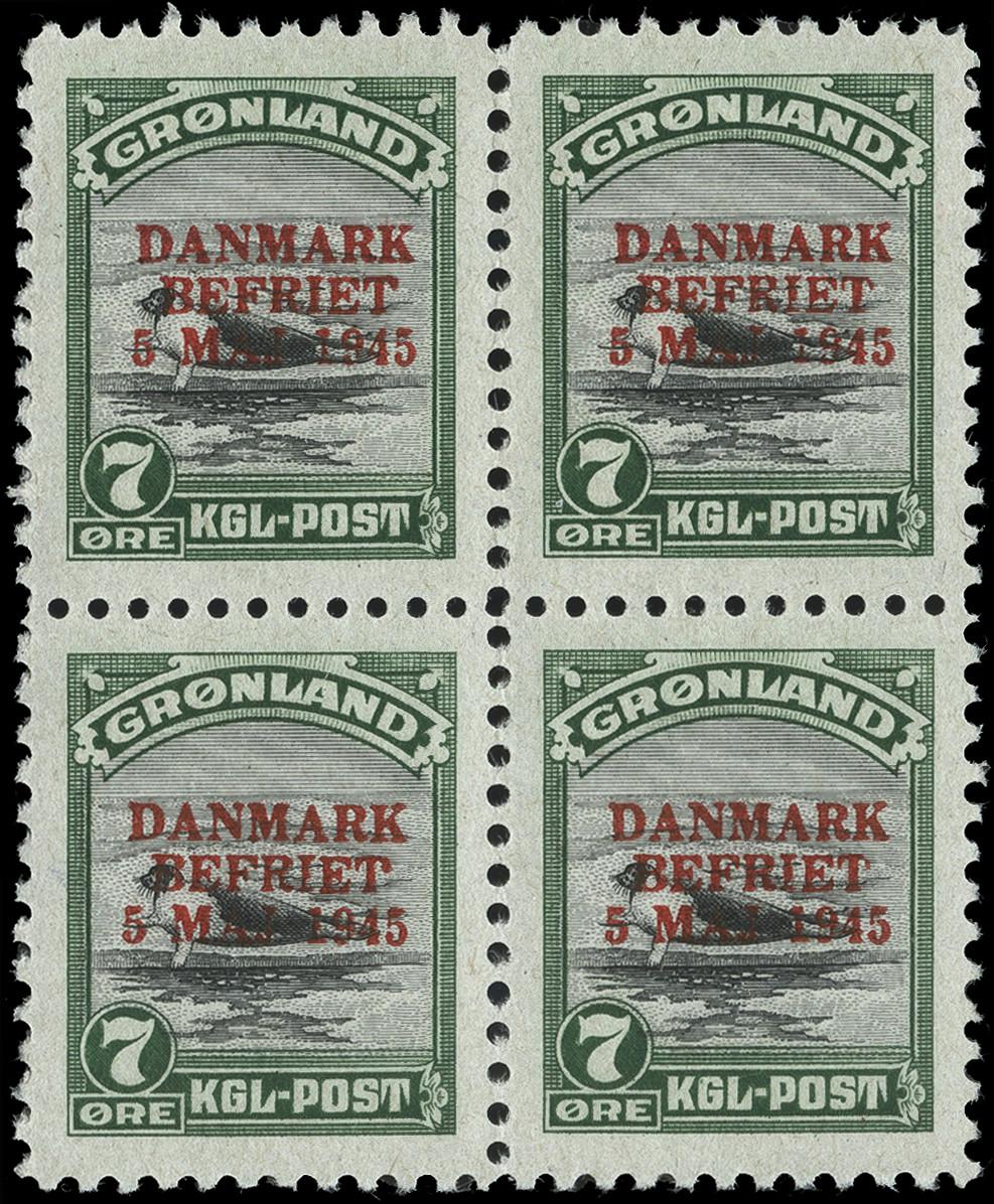 Lot 1138 - Greenland Greenland - Danish Post -  Heinrich Koehler Auktionen Heinrich Köhler Auction 376 - Day 1