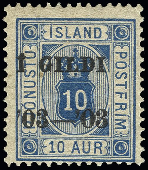 Lot 1489 - Iceland Iceland - officals -  Heinrich Koehler Auktionen Heinrich Köhler Auction 376 - Day 1