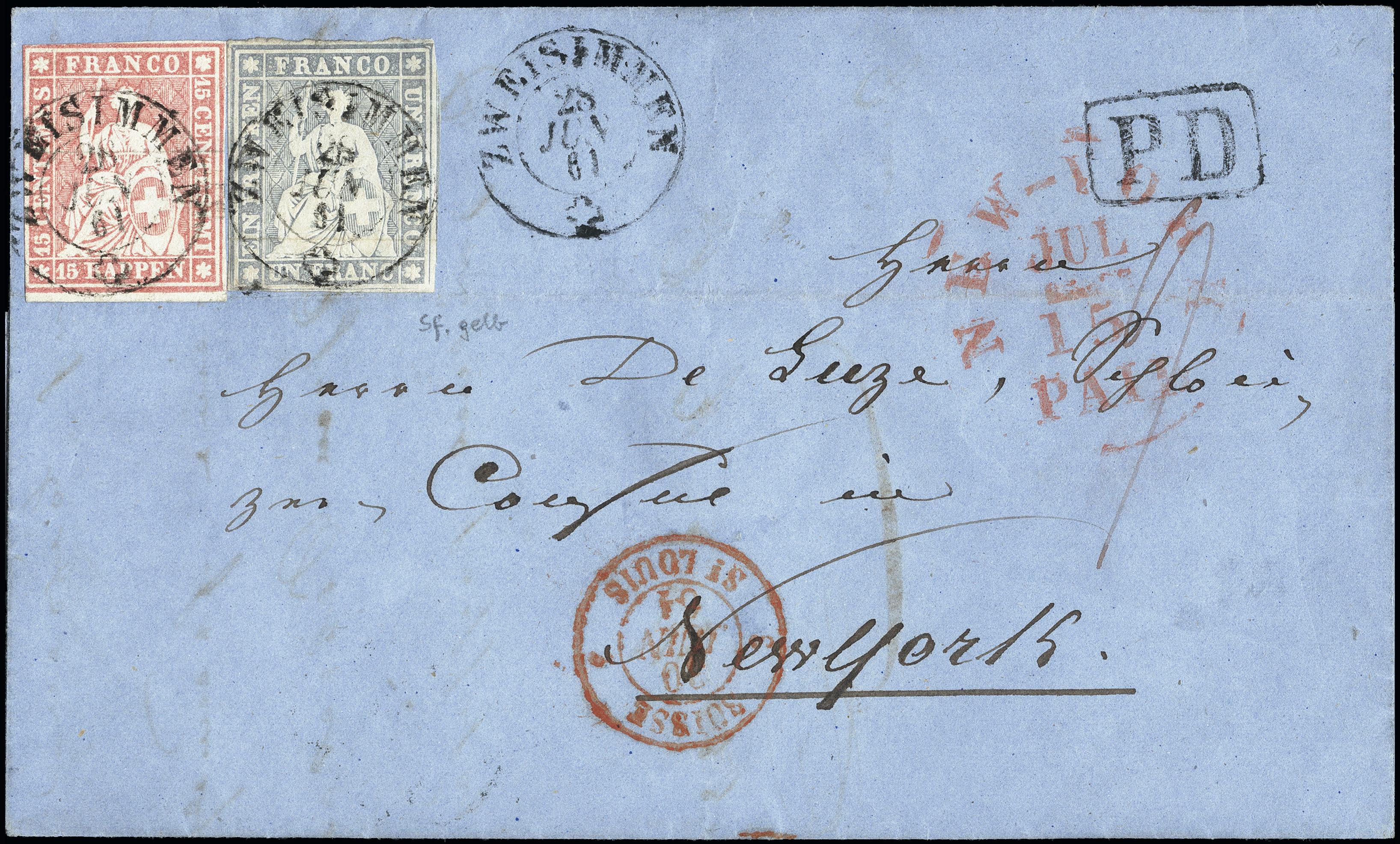 Lot 1009 - Switzerland swiss federal post -  Heinrich Koehler Auktionen Heinrich Köhler Auction 376 - Day 1