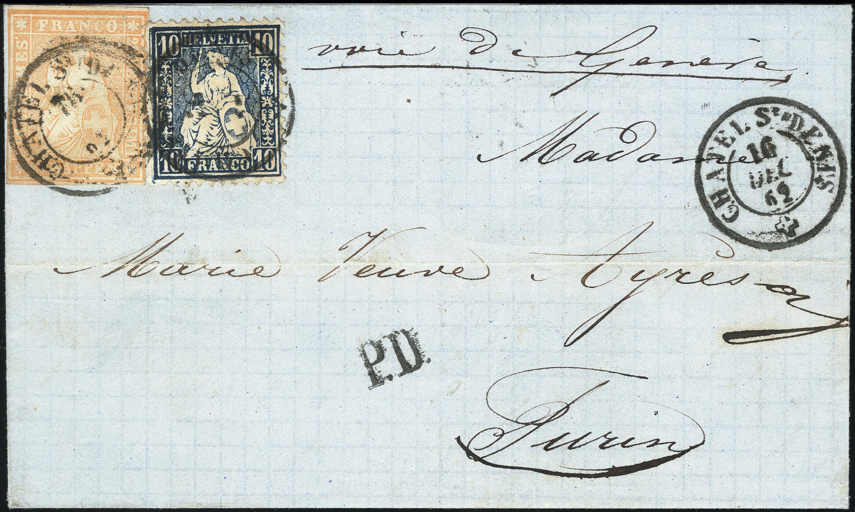 Lot 1018 - Switzerland swiss federal post -  Heinrich Koehler Auktionen Heinrich Köhler Auction 376 - Day 1