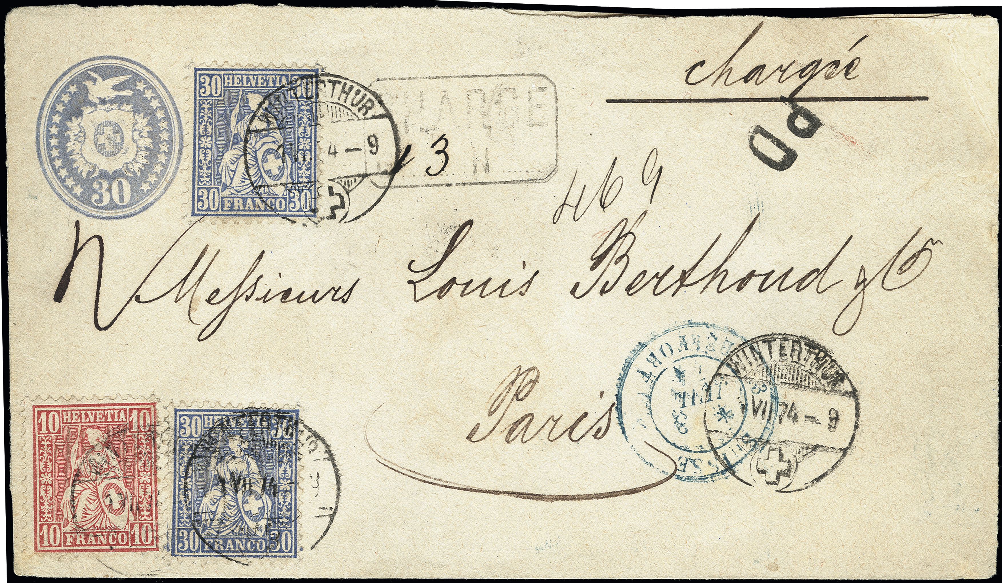 Lot 1024 - Switzerland swiss federal post -  Heinrich Koehler Auktionen Heinrich Köhler Auction 376 - Day 1