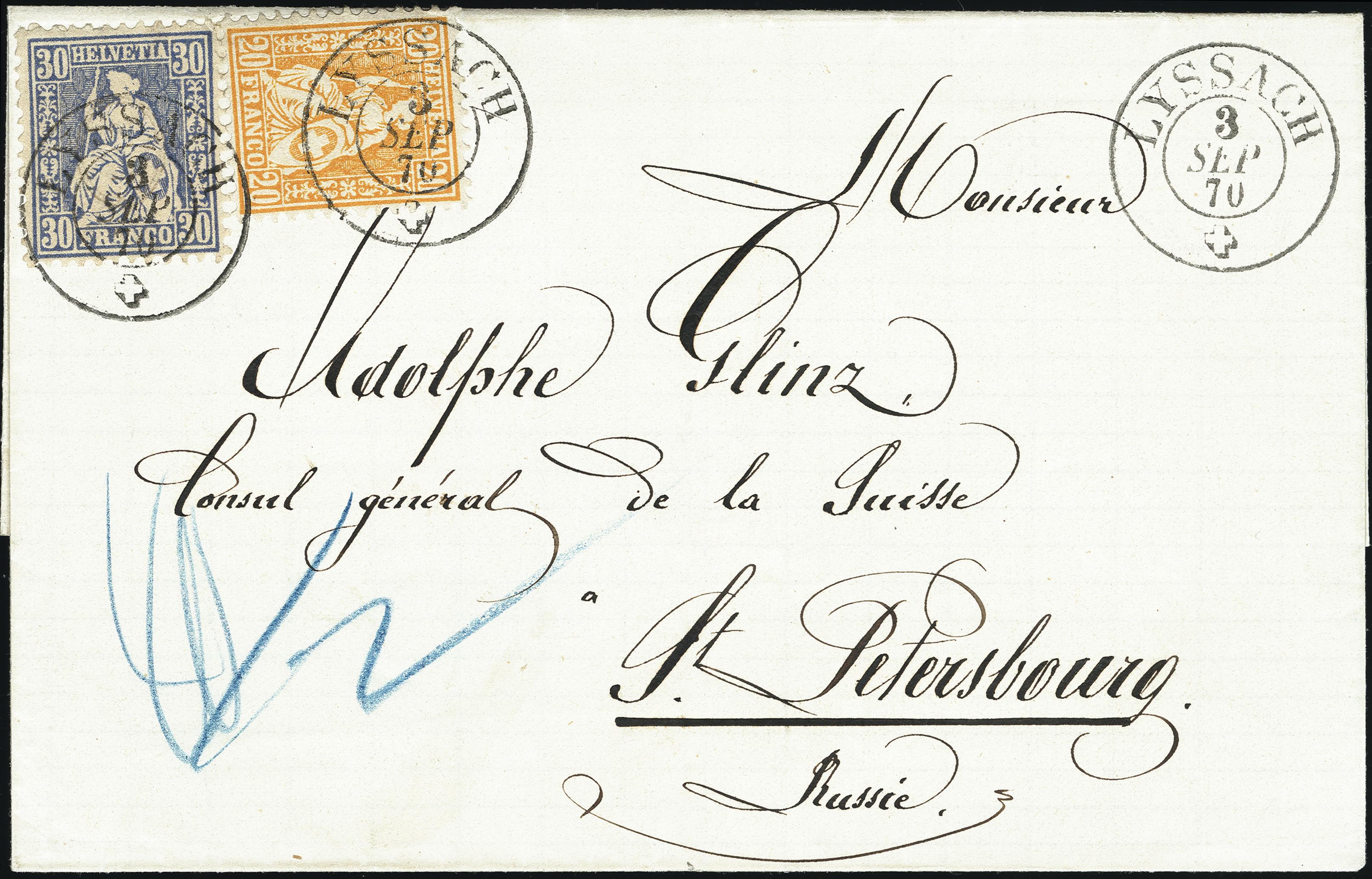 Lot 1023 - Switzerland swiss federal post -  Heinrich Koehler Auktionen Heinrich Köhler Auction 376 - Day 1