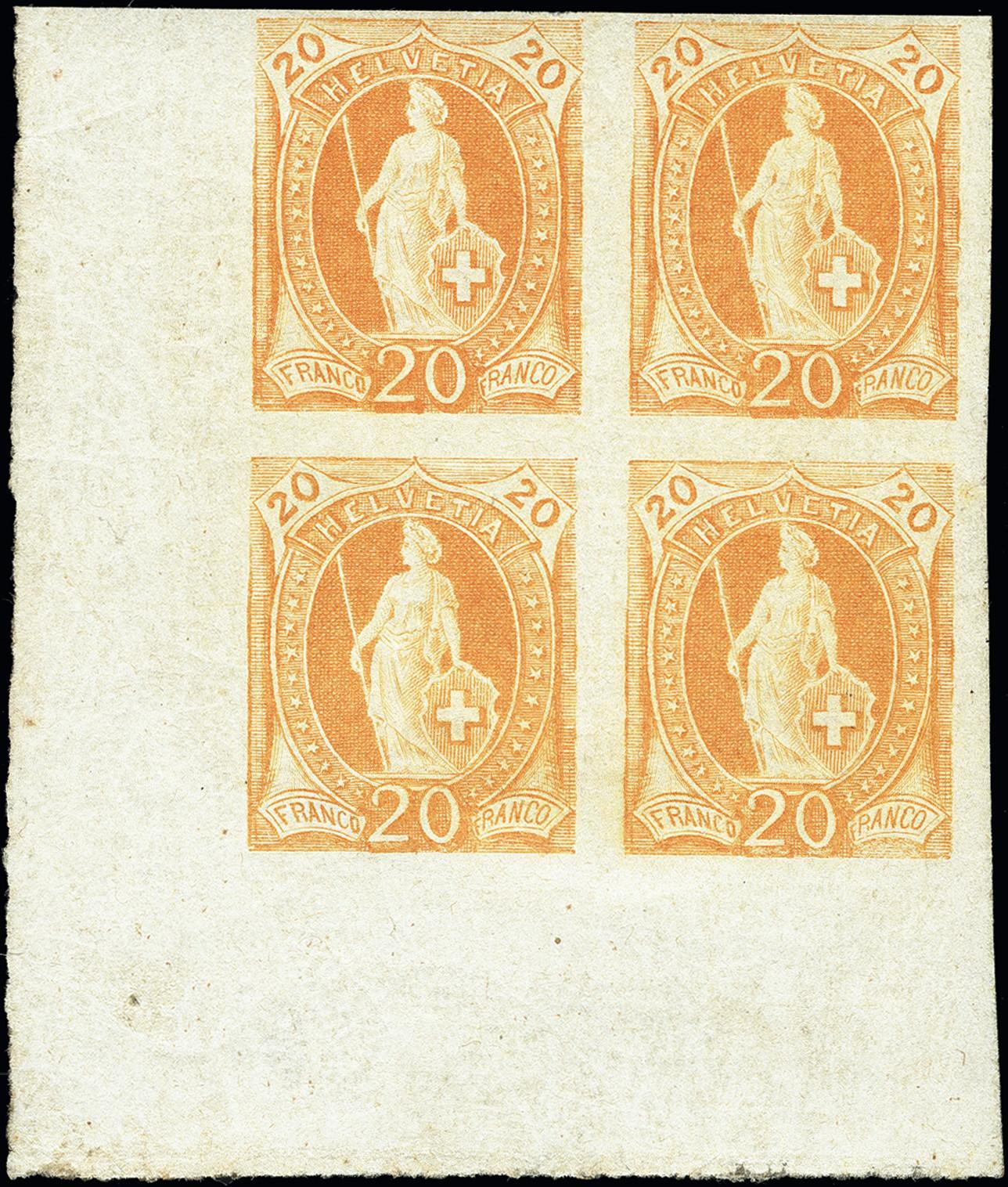 Lot 1027 - Switzerland swiss federal post -  Heinrich Koehler Auktionen Heinrich Köhler Auction 376 - Day 1