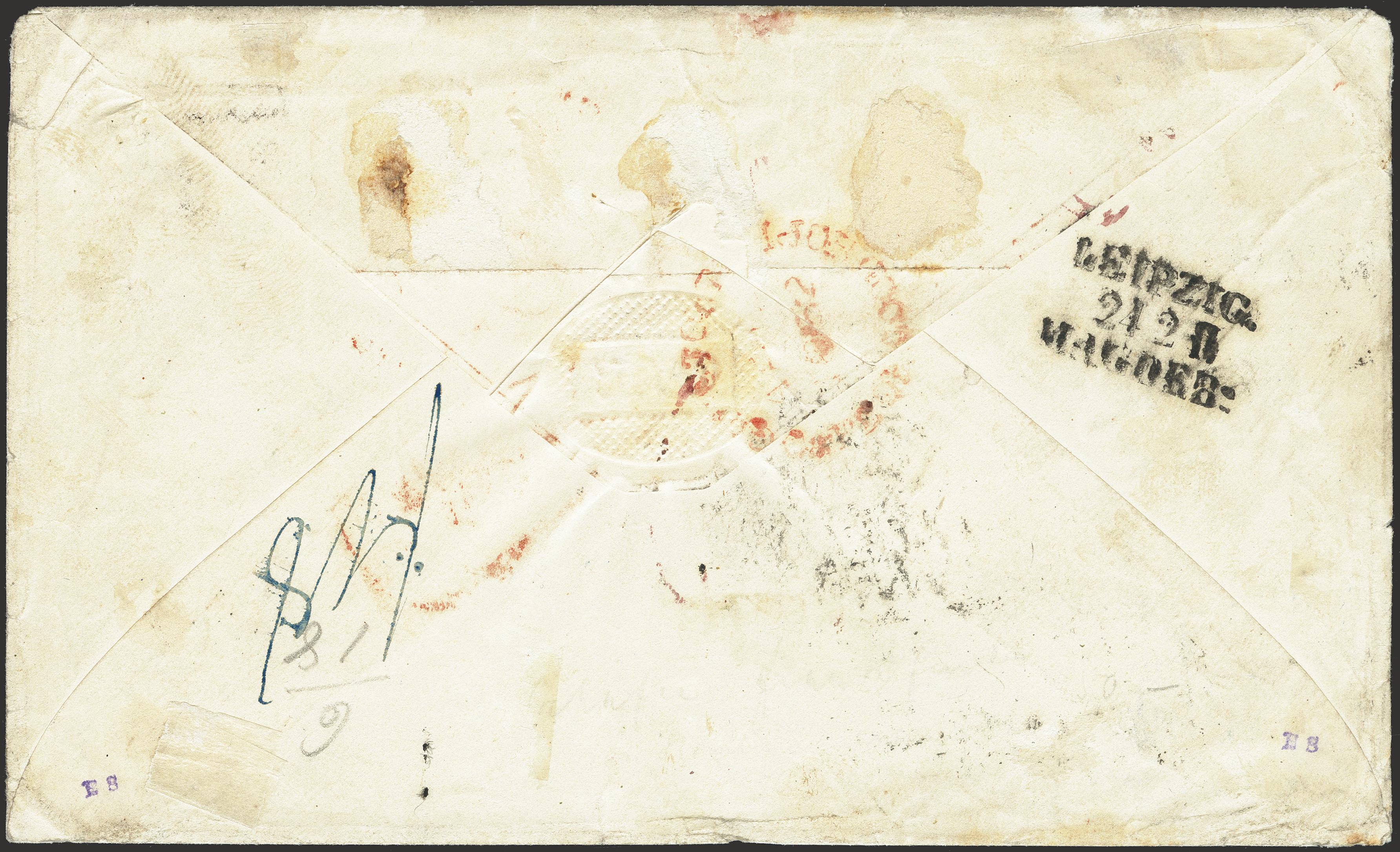 Lot 266 - german states saxony -  Heinrich Koehler Auktionen Heinrich Köhler Auction 376 - Day 6