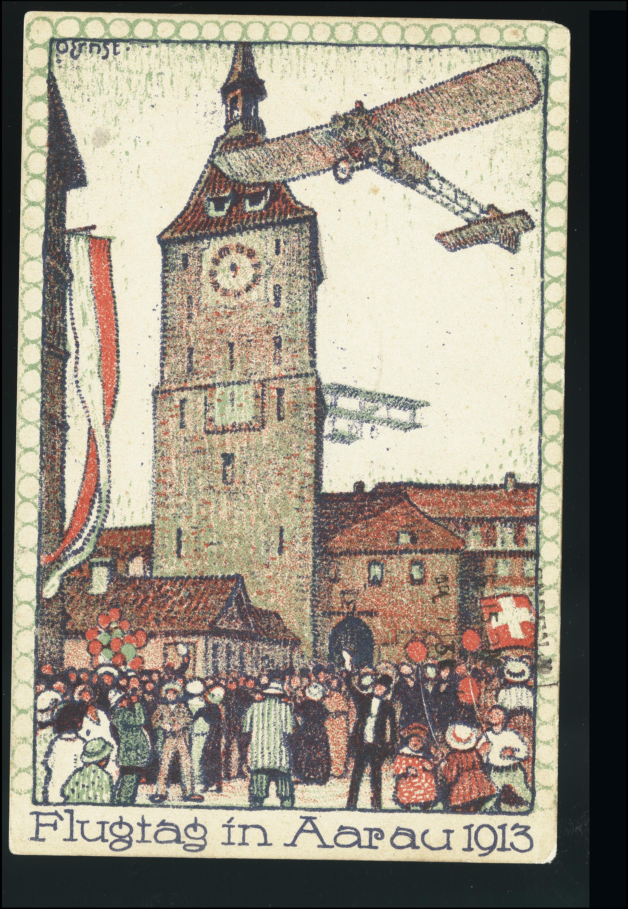 Lot 1039 - europe Switzerland - semi-offical airmail -  Heinrich Koehler Auktionen Heinrich Köhler Auction 376 - Day 1