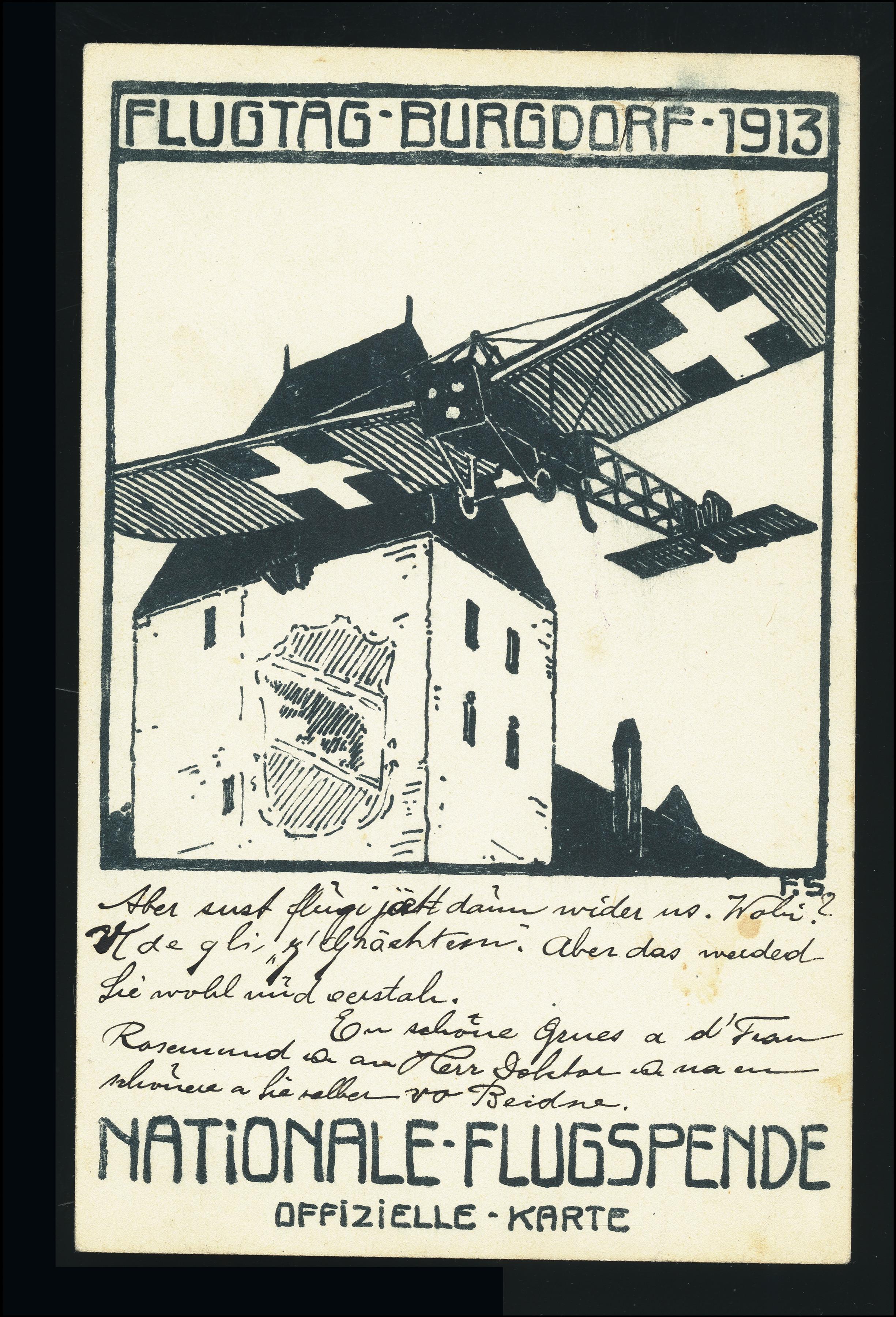 Lot 1041 - europe Switzerland - semi-offical airmail -  Heinrich Koehler Auktionen Heinrich Köhler Auction 376 - Day 1