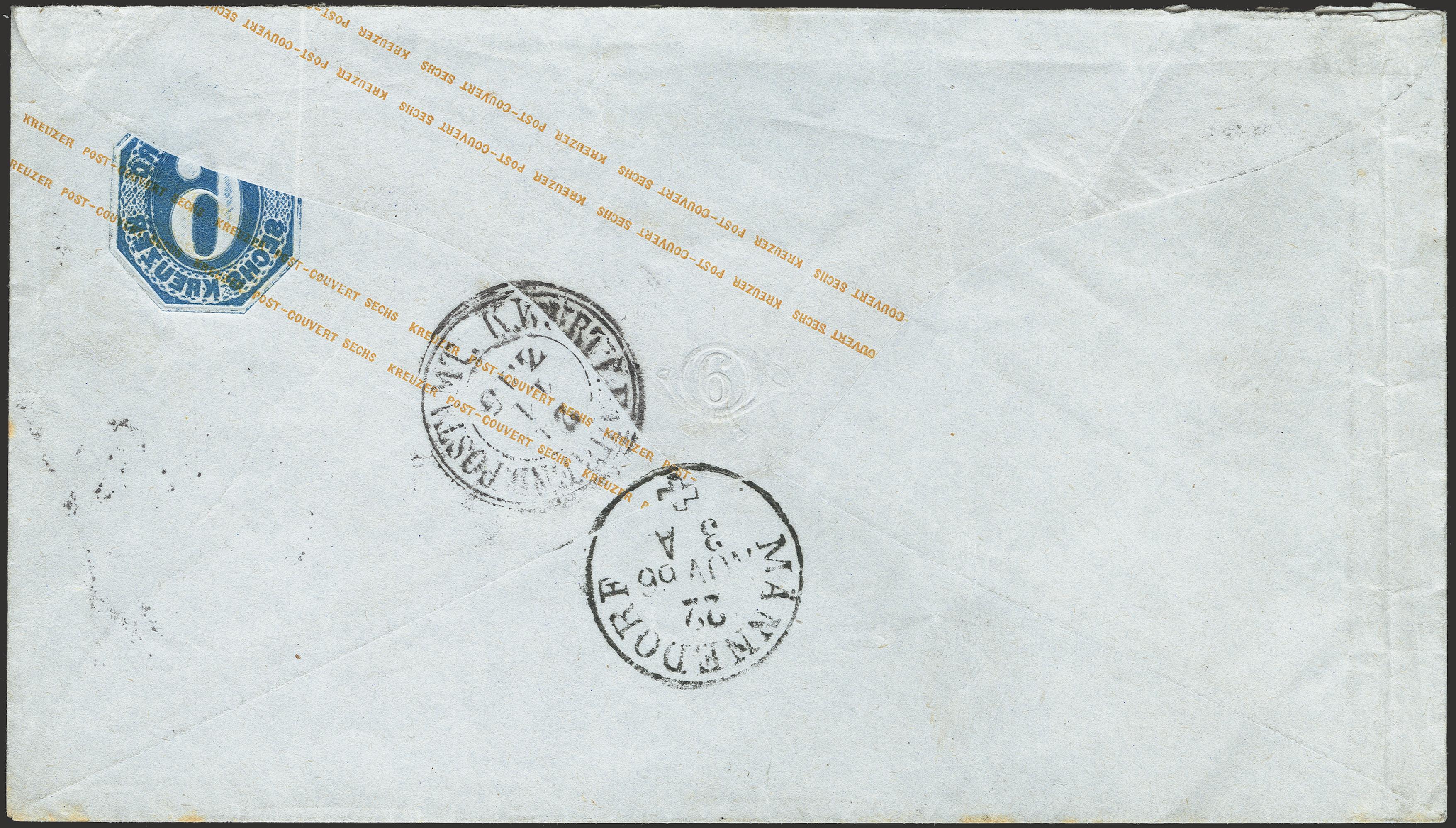 Lot 313 - Wurttemberg Württemberg - postal stationary -  Heinrich Koehler Auktionen Heinrich Köhler Auction 376 - Day 6
