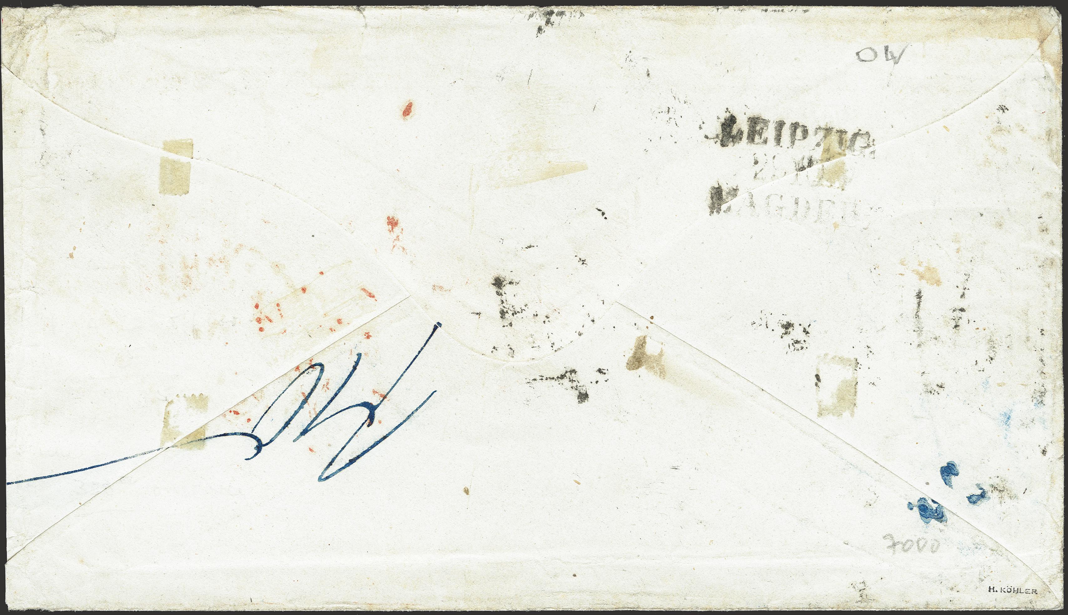 Lot 265 - german states saxony -  Heinrich Koehler Auktionen Heinrich Köhler Auction 376 - Day 6