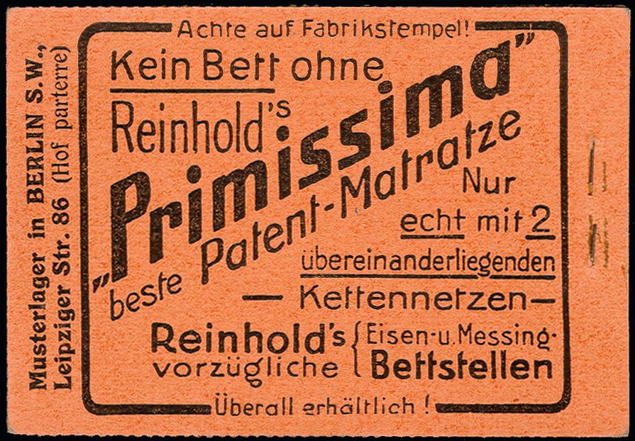 Lot 2985 - German Empire german empire - se-tenants -  Heinrich Koehler Auktionen Heinrich Köhler Auction 376 - Day 4