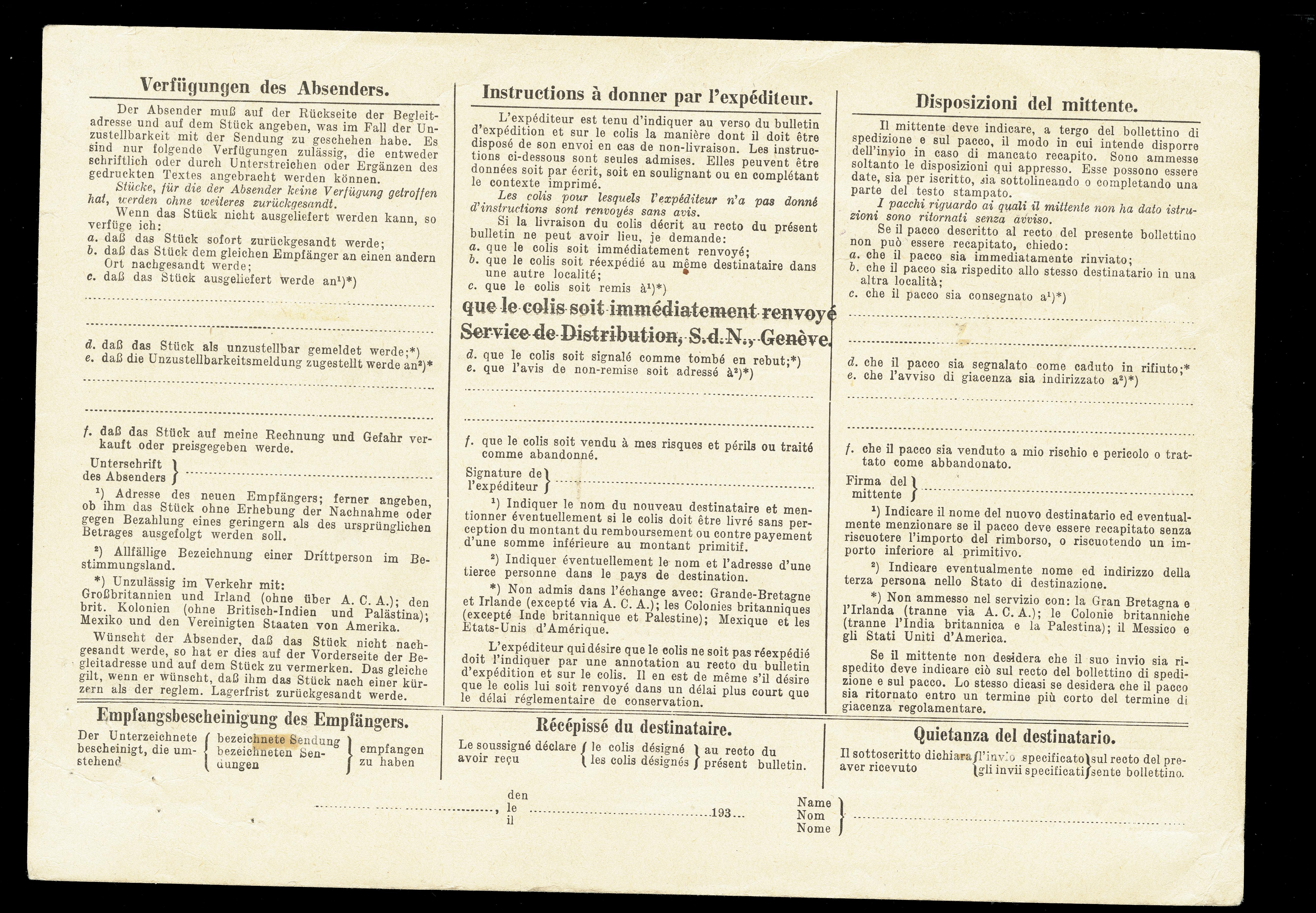 Lot 1043 - Switzerland Swiss - League of Nations -  Heinrich Koehler Auktionen Heinrich Köhler Auction 376 - Day 1