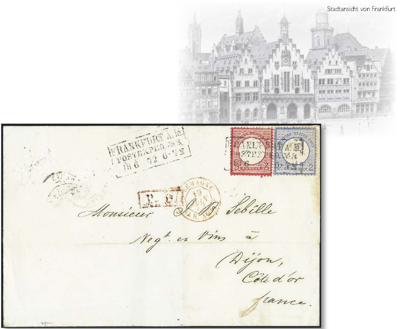 Lot 2903 - Main catalogue German Empire -  Heinrich Koehler Auktionen Heinrich Köhler Auction 376 - Day 4