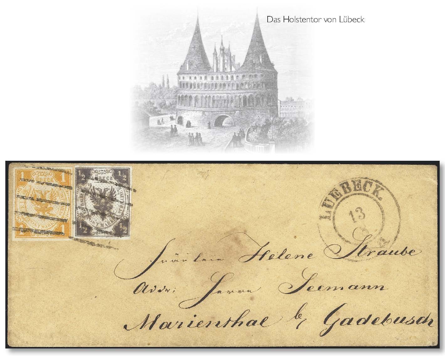 Lot 3414 - german states lübeck -  Heinrich Koehler Auktionen Heinrich Köhler Auction 376 - Day 5