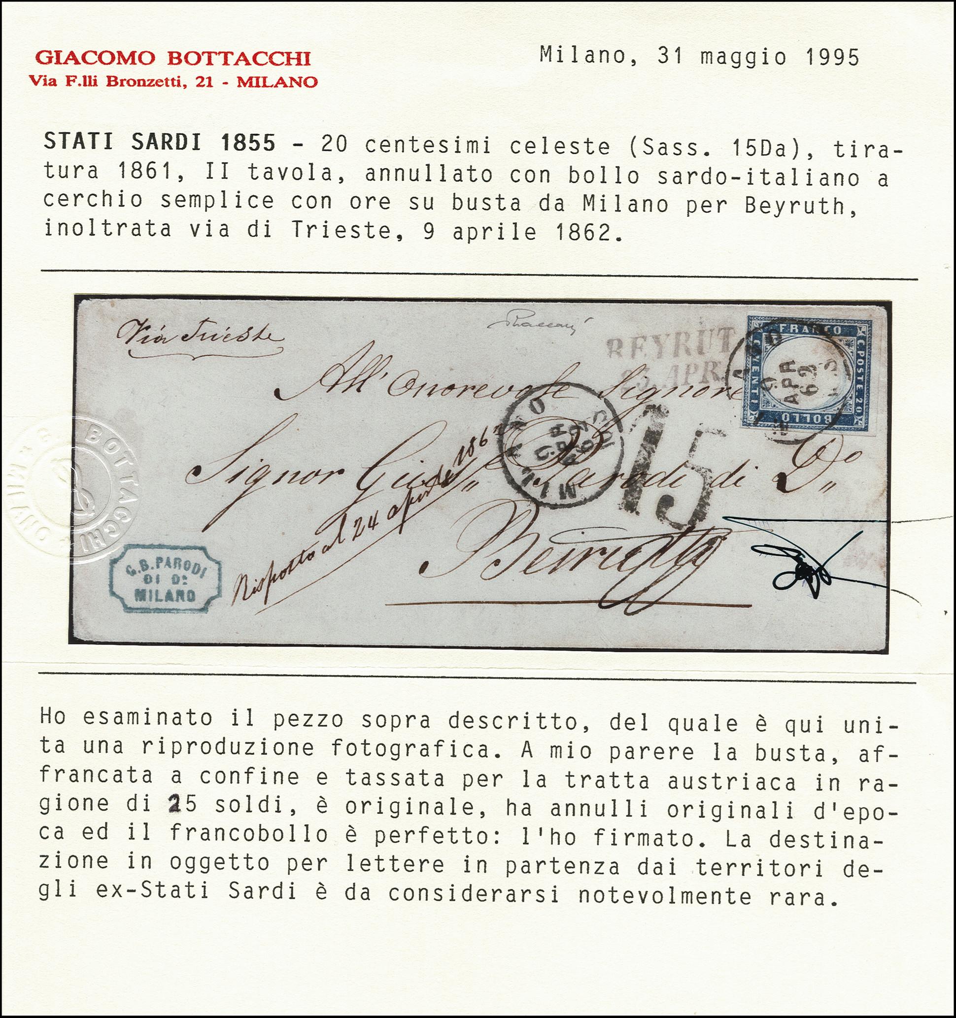 Lot 8044 - italian states sardinia -  Heinrich Koehler Auktionen Heinrich Köhler Auction 377 - Day 4