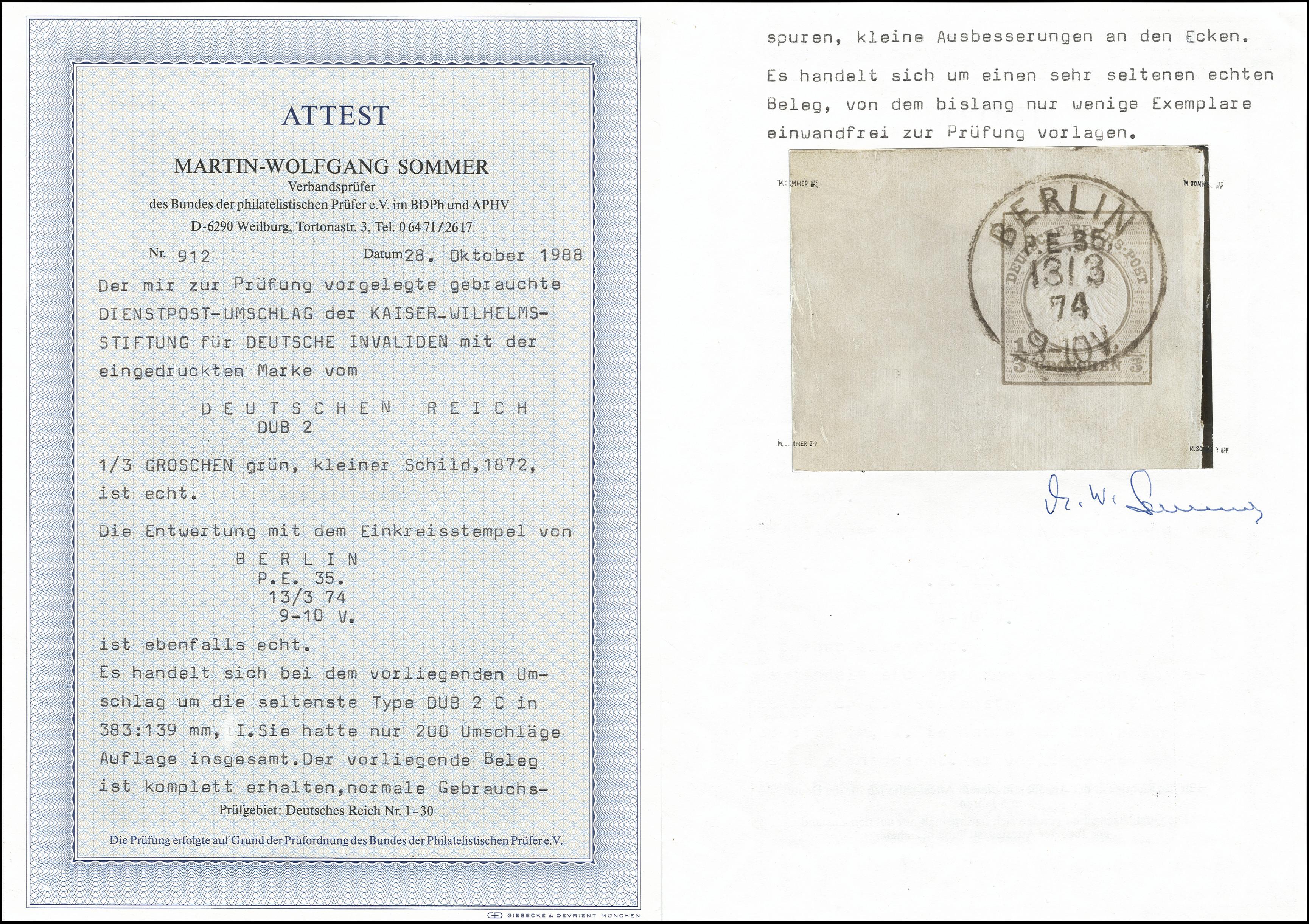 Lot 2100 - German Empire Deutsches Reich - Privat-Ganzsachen -  Heinrich Koehler Auktionen Heinrich Köhler Auction 377 - Day 5