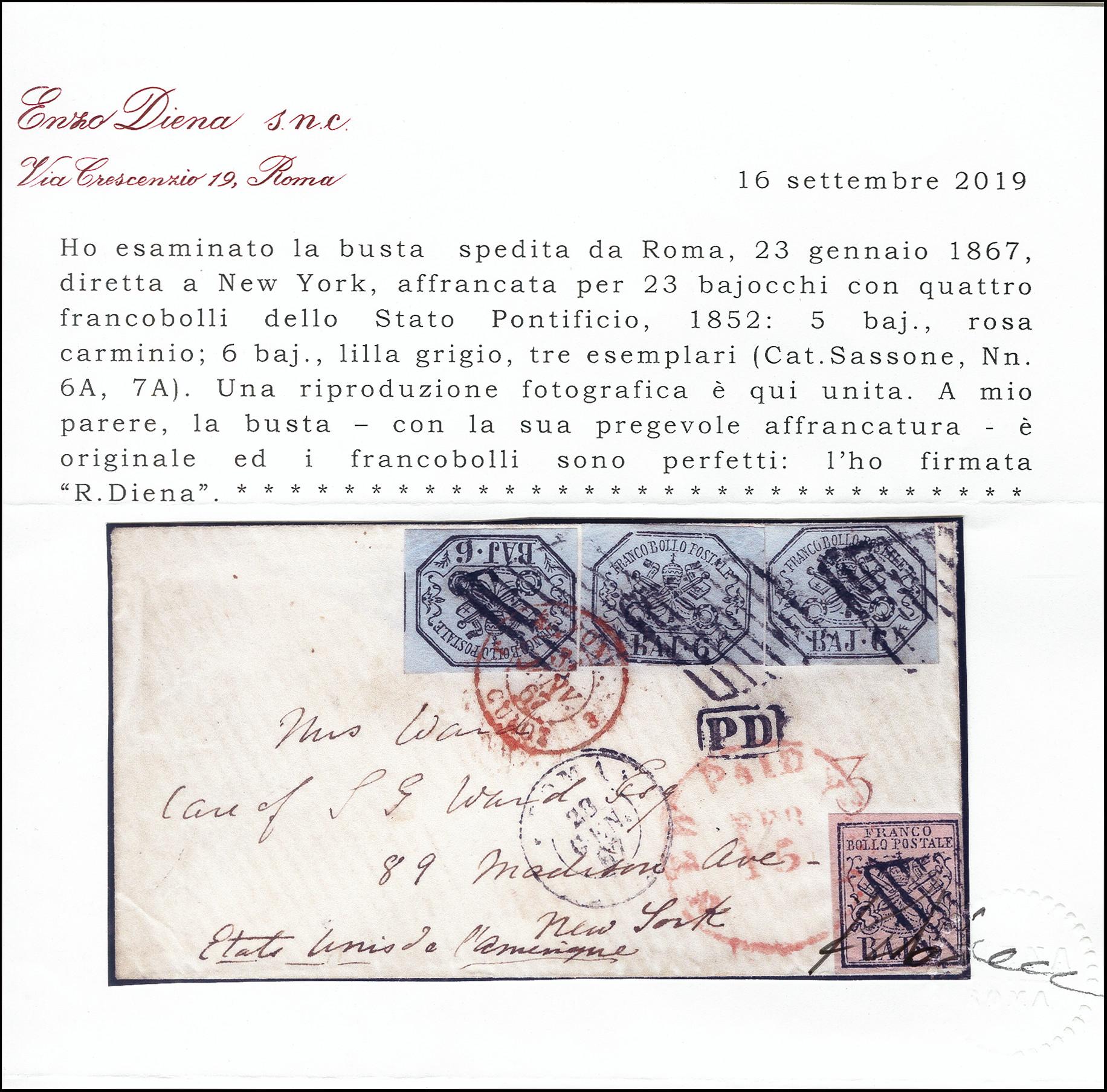 Lot 1297 - italian states papal states -  Heinrich Koehler Auktionen Heinrich Köhler Auction 377 - Day 1