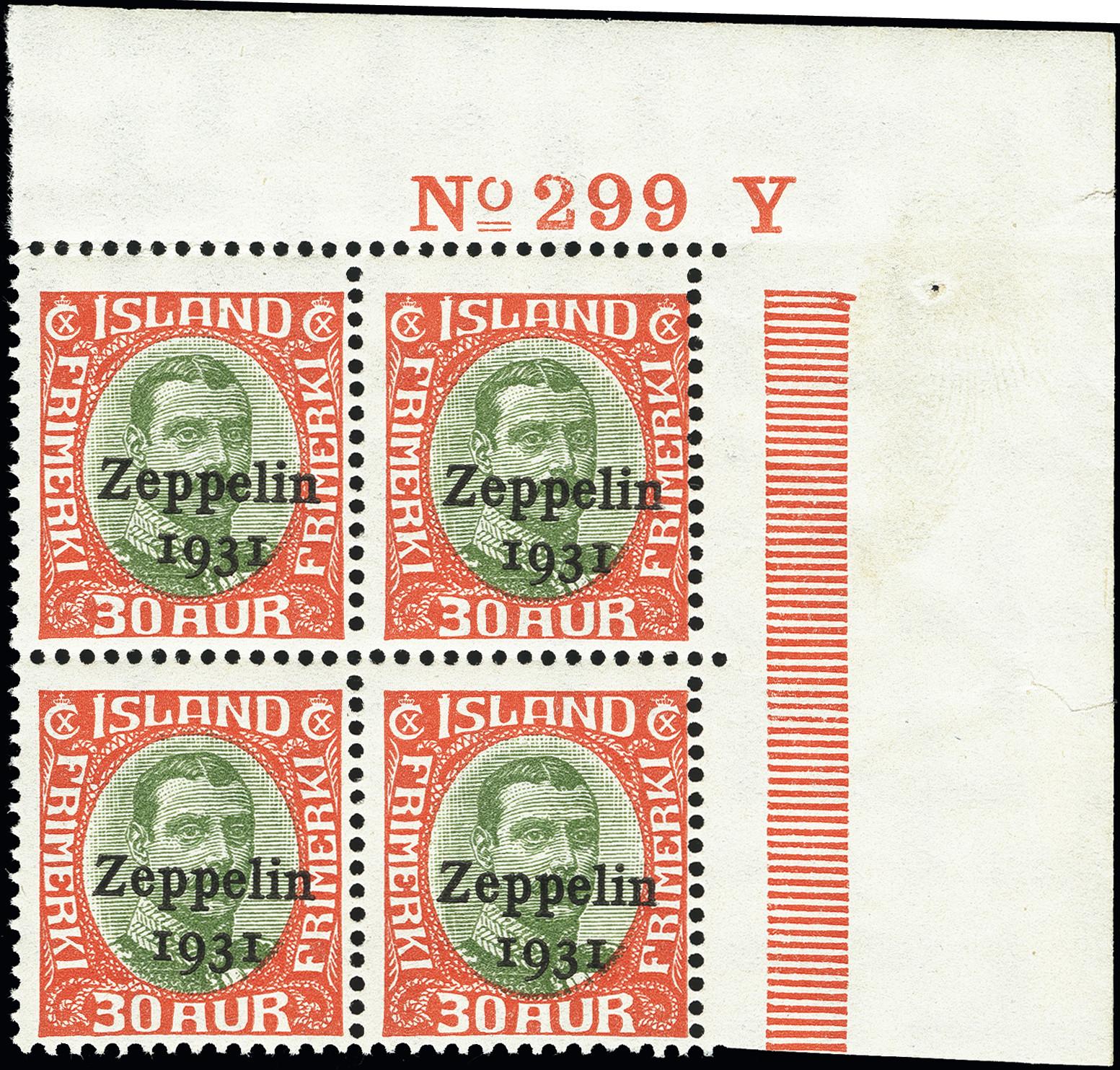 Lot 1295 - europe Iceland -  Heinrich Koehler Auktionen Heinrich Köhler Auction 377 - Day 1