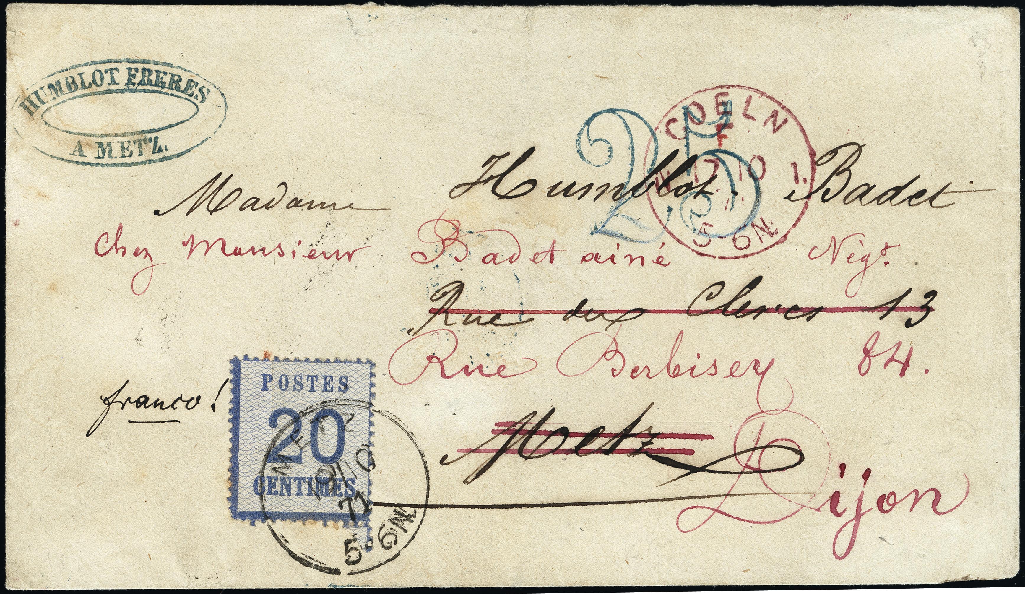 Lot 8569 - german states alsace-lorraine -  Heinrich Koehler Auktionen Heinrich Köhler Auction 377 - Day 5