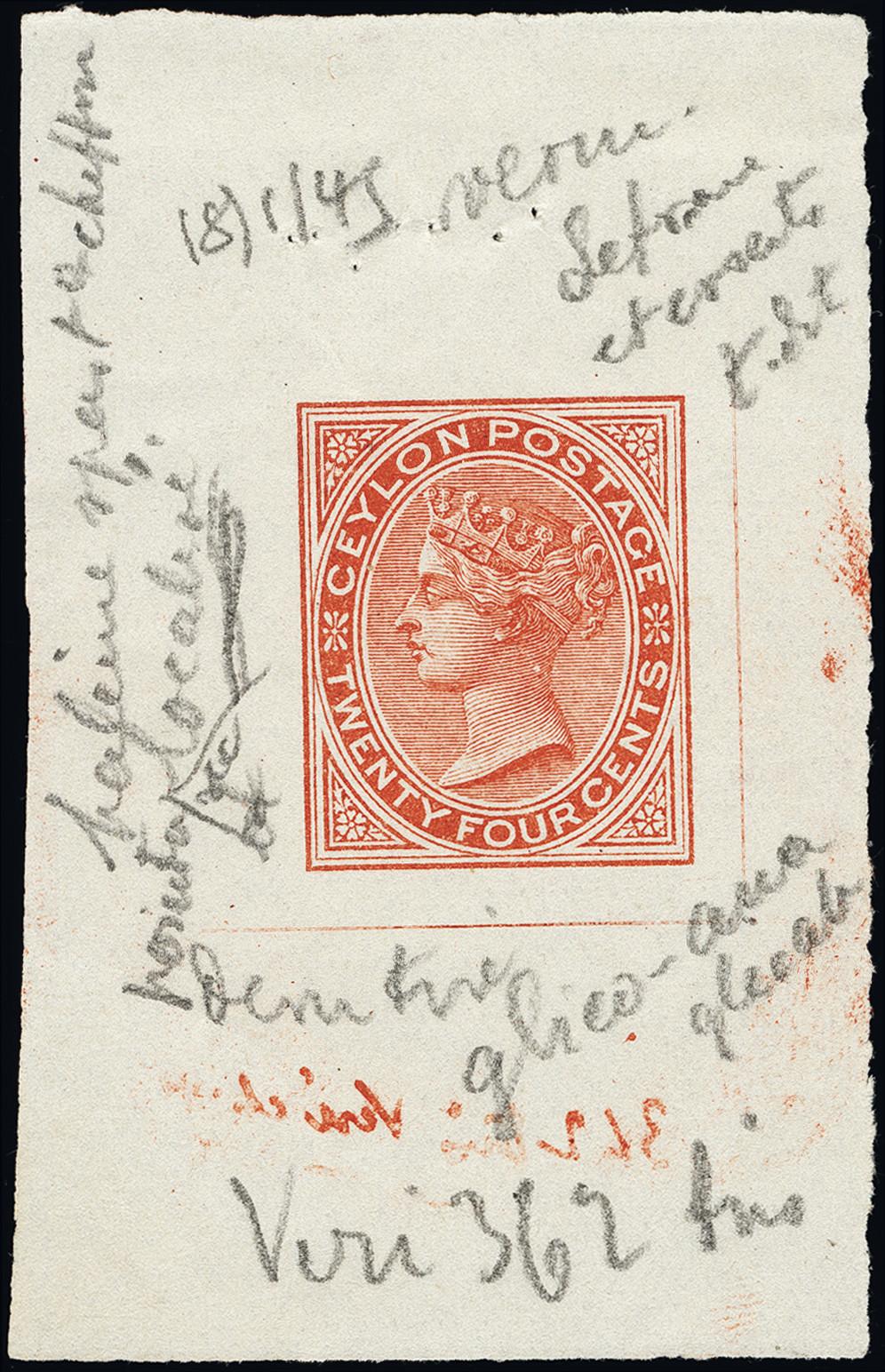 Lot 1237 - British Commonwealth Ceylon -  Heinrich Koehler Auktionen Heinrich Köhler Auction 377 - Day 1