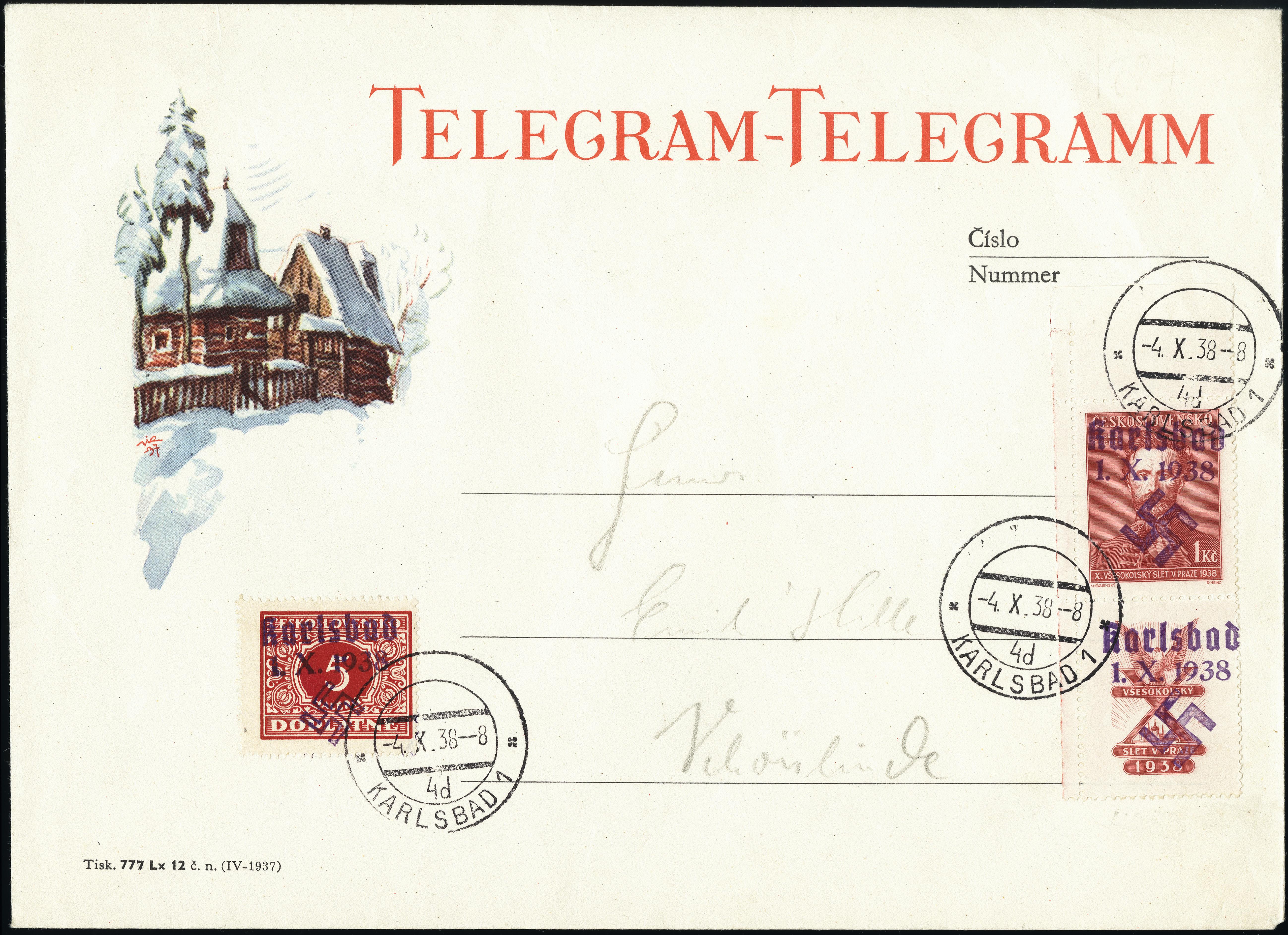 Lot 2259 - sudetenland sudetenland - karlsbad -  Heinrich Koehler Auktionen Heinrich Köhler Auction 377 - Day 5