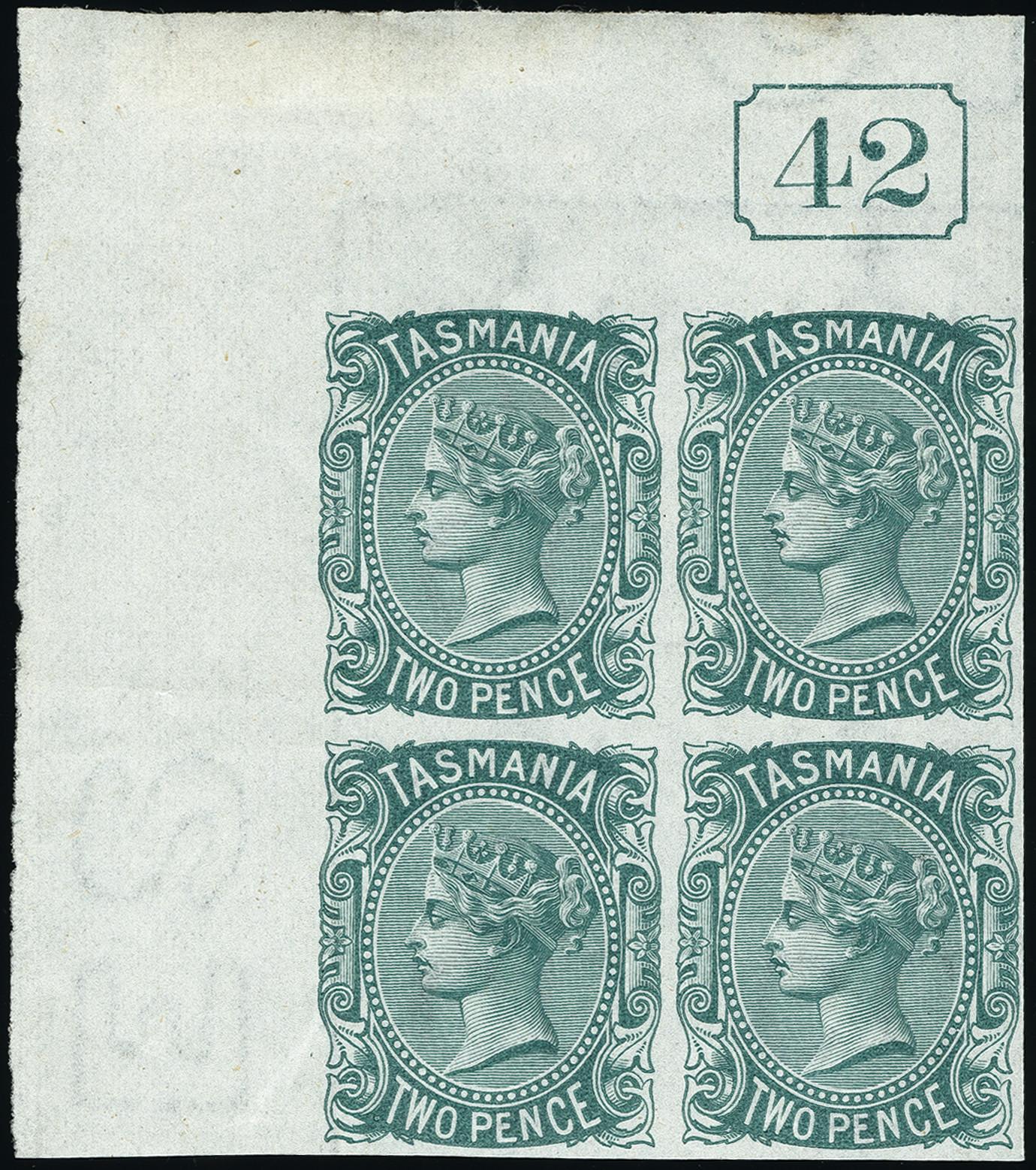 Lot 1227 - Australia tasmania -  Heinrich Koehler Auktionen Heinrich Köhler Auction 377 - Day 1