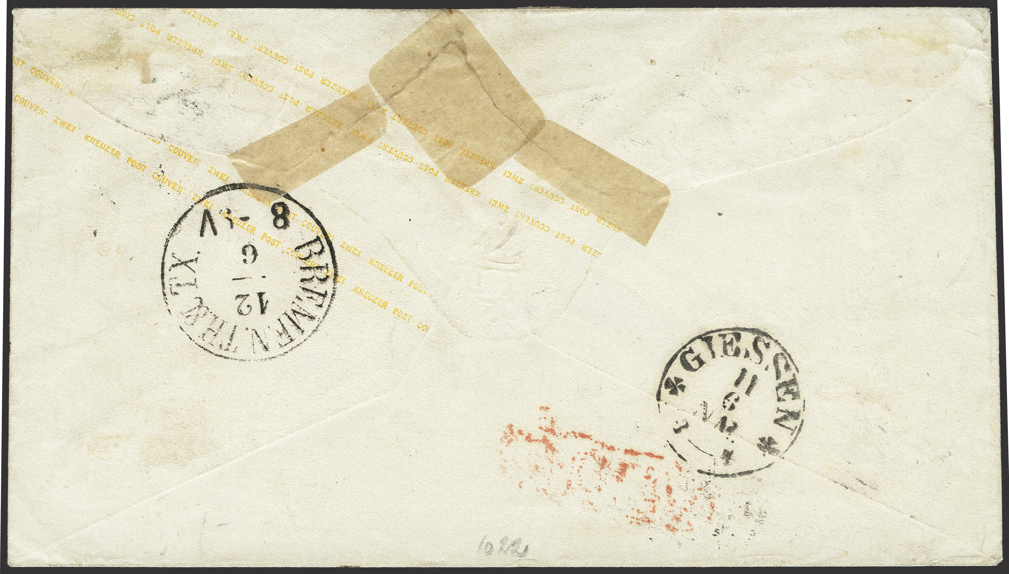Lot 271 - thurn and taxis Thurn and Taxis - postal stationary -  Heinrich Koehler Auktionen Heinrich Köhler Auction 377 - Day 6