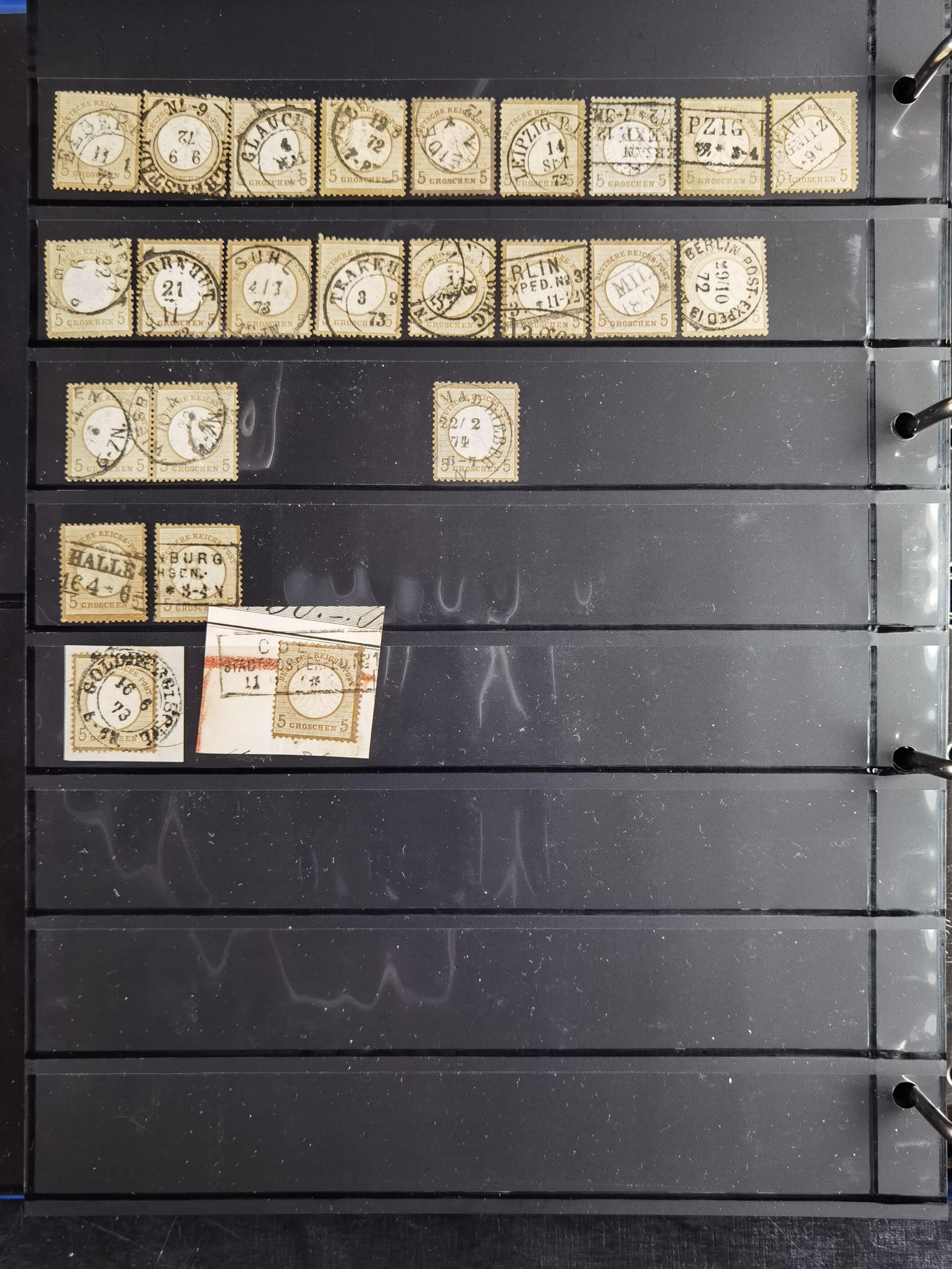 Lot 3610 - Main catalogue German Empire -  Heinrich Koehler Auktionen Heinrich Köhler Auction 377 - Day 3