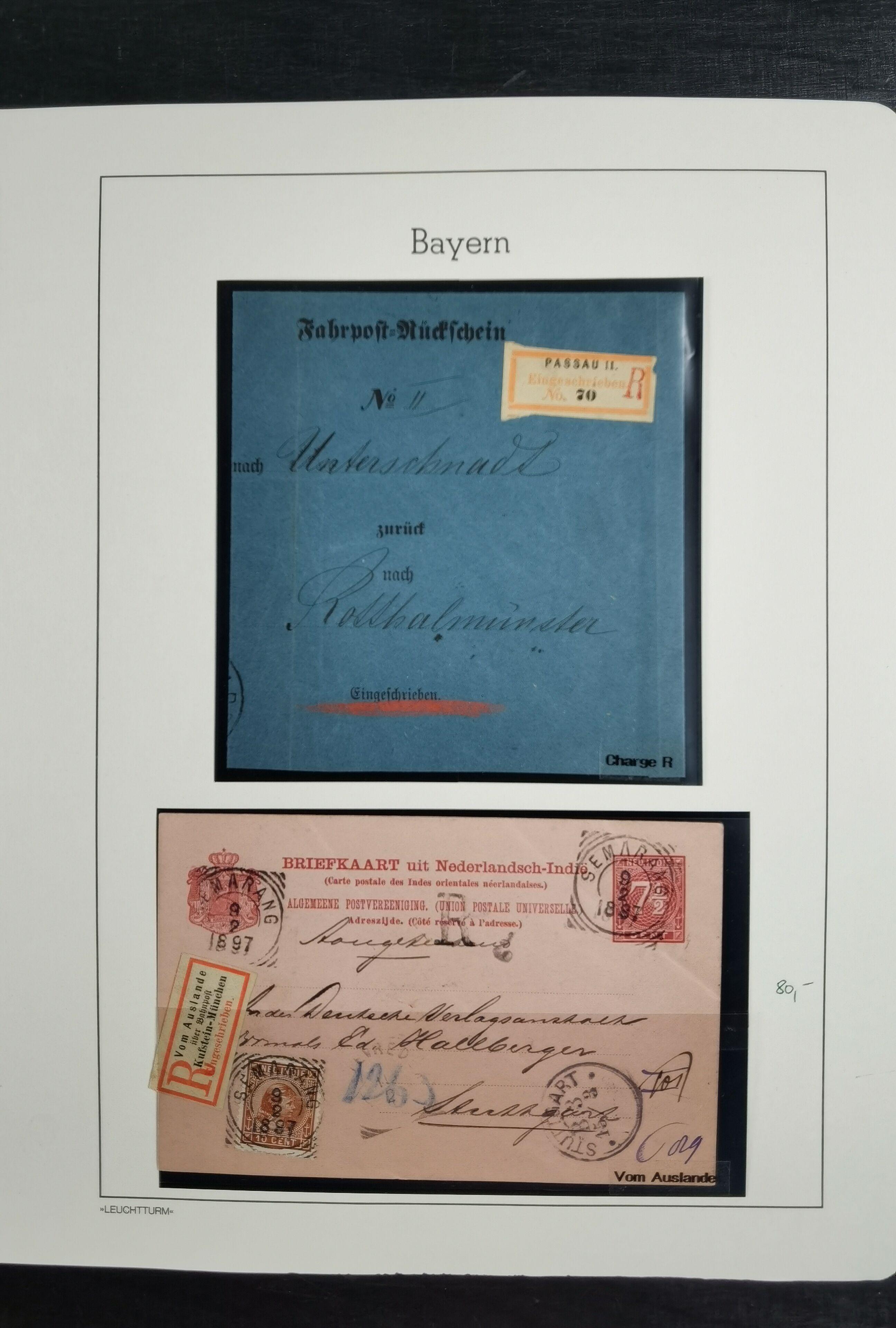 Lot 3553 - german states bavaria -  Heinrich Koehler Auktionen Heinrich Köhler Auction 377 - Day 3