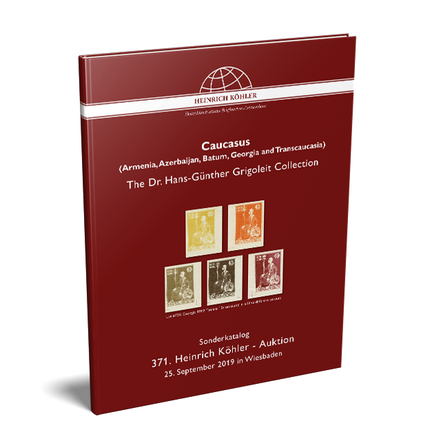 371 Auction - Special Catalogue Caucasus