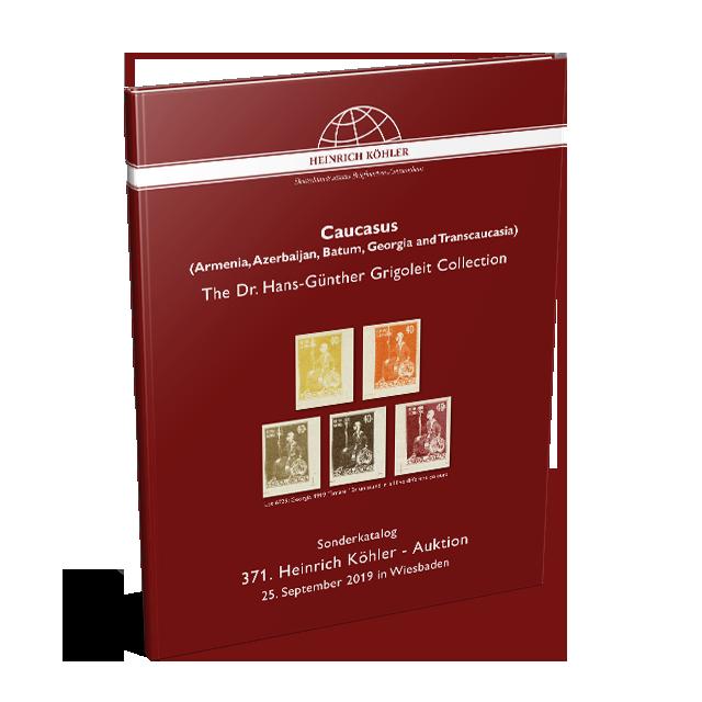 371 Auktion - Sonderkatalog Kaukasus