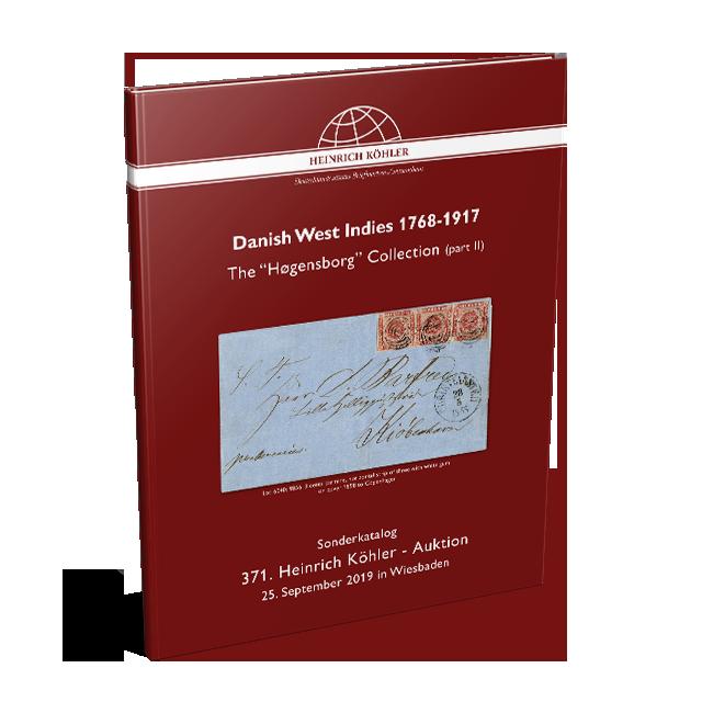 371 Auction - Special Catalogue Danish West Indies
