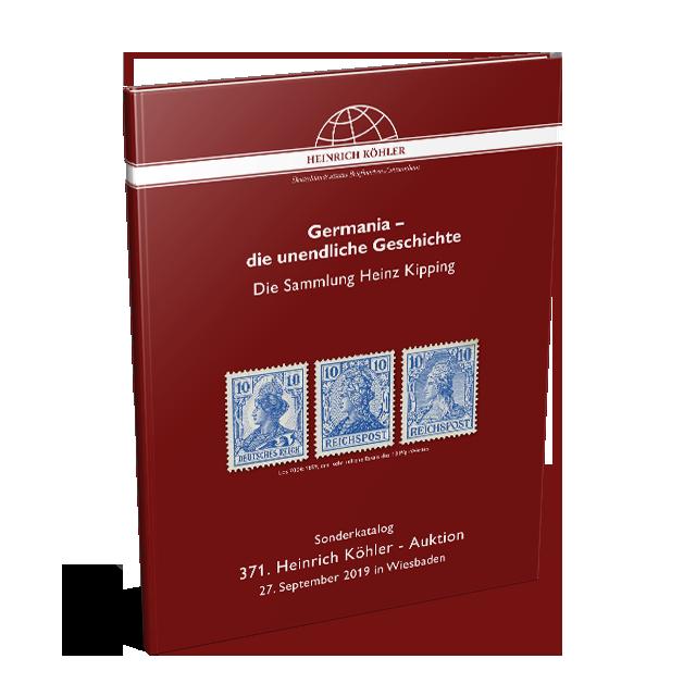 371 Auktion - Sonderkatalog Germania