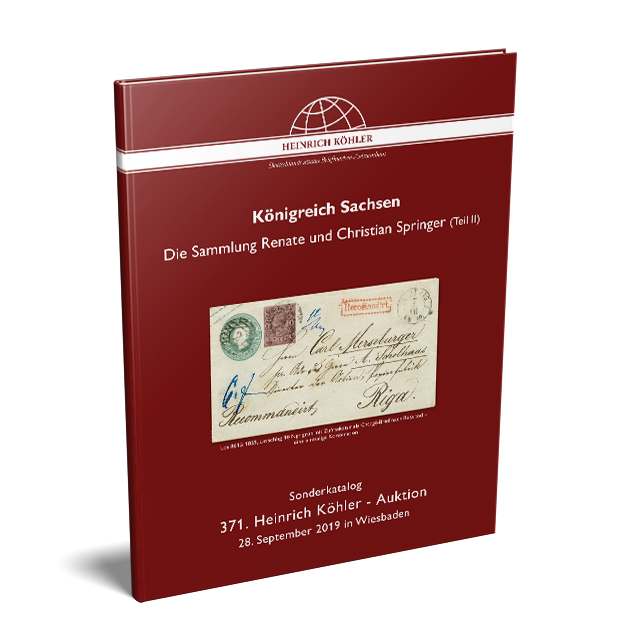 371 Auction - Special Catalogue Saxony