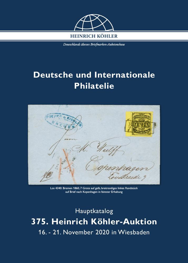 373. Heinrich Köhler Auktion
