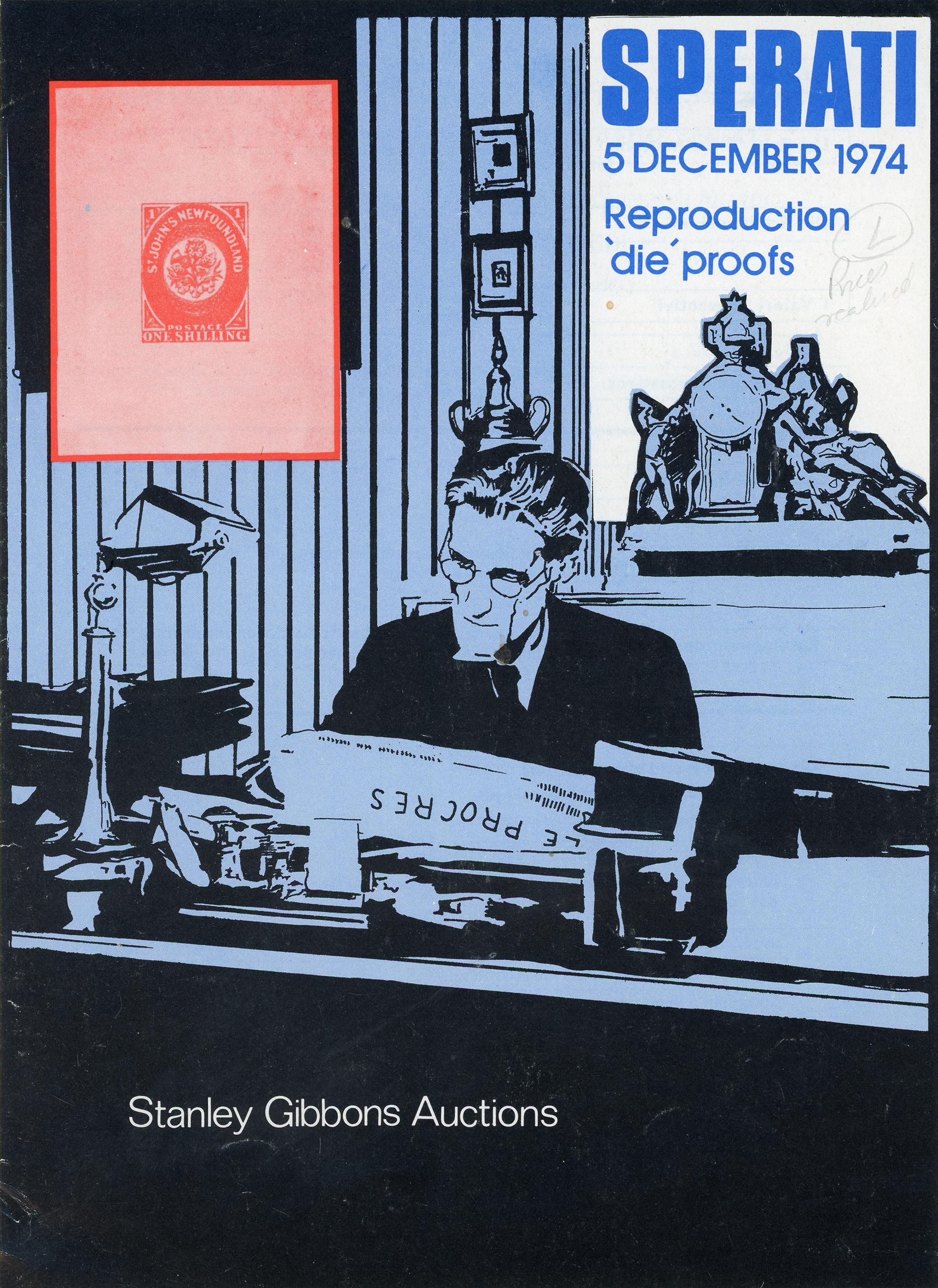 Sperati-Sonderkatalog, Stanley Gibbons, 1974