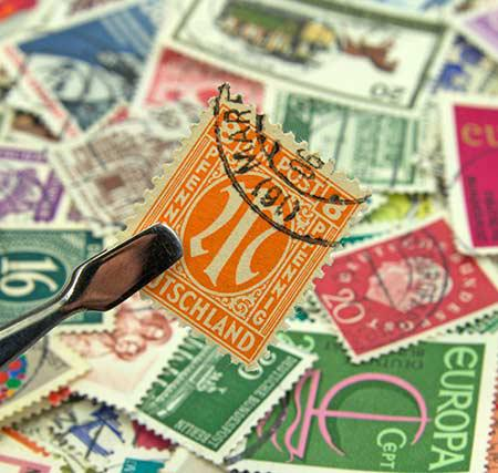 The value of a stamp collection should be determined by professionals.