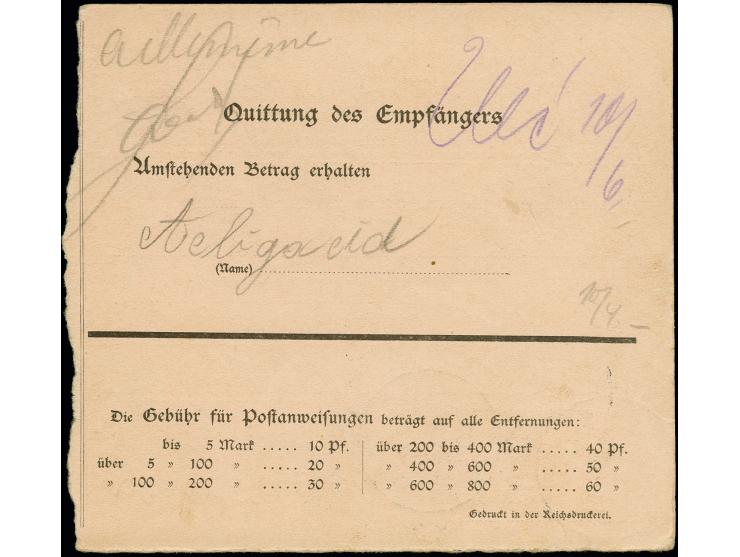 366. Auktion März 2018 - 1821