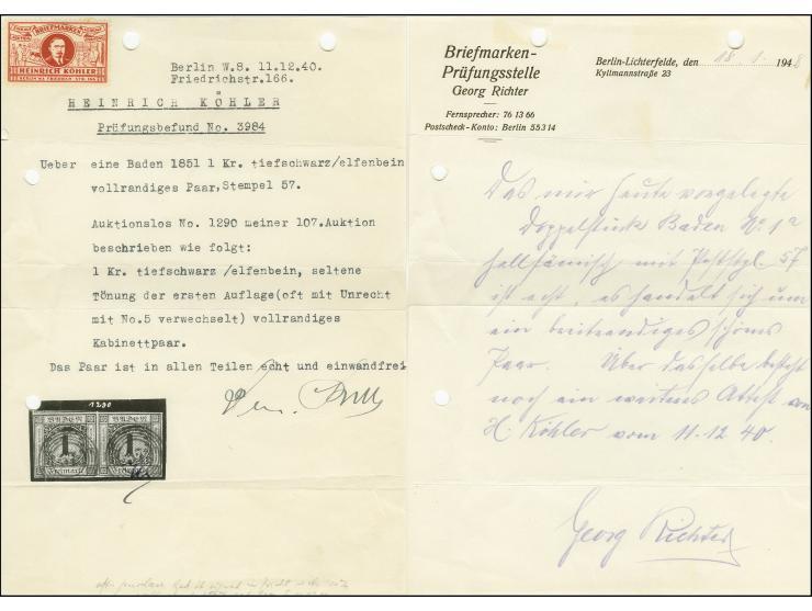 Altdeutsche Staaten -  Die Sammlung ERIVAN - 1