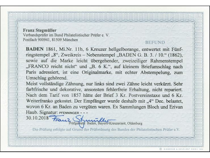 Altdeutsche Staaten -  Die Sammlung ERIVAN - 16