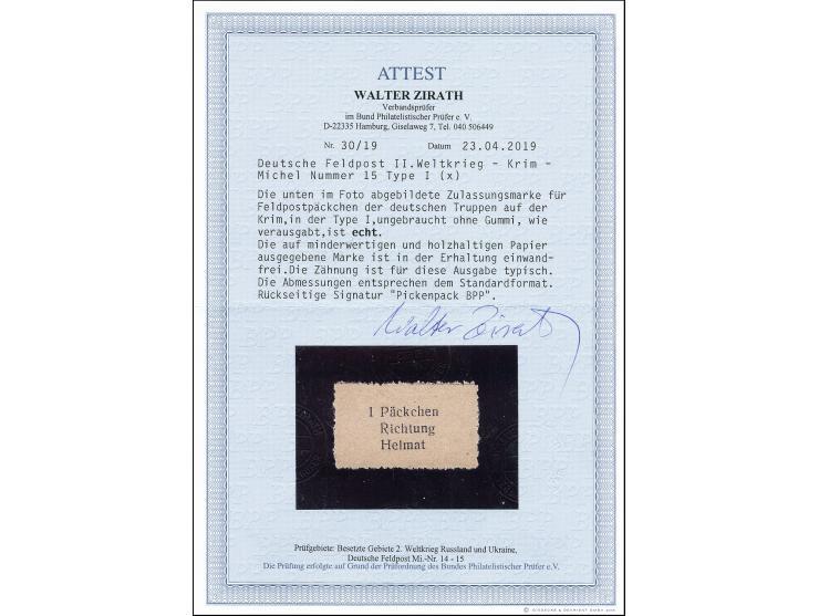 373. Heinrich Köhler Auktion - 1968