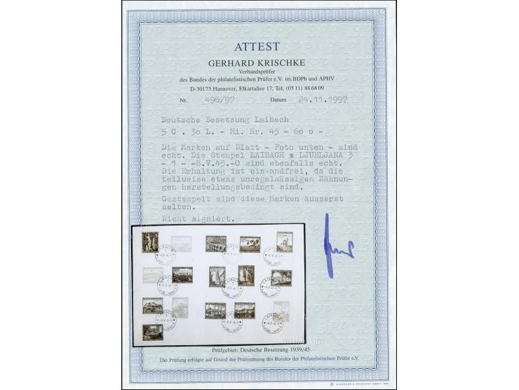 373. Heinrich Köhler Auktion - 1947