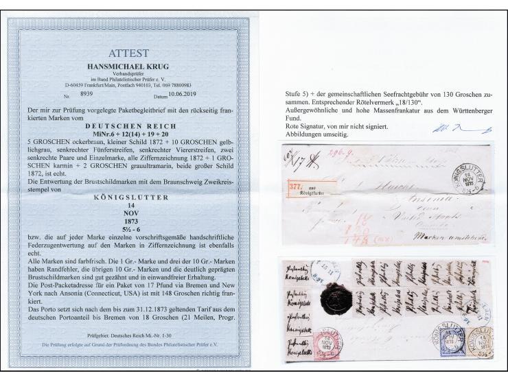 373. Heinrich Köhler Auktion - 2626
