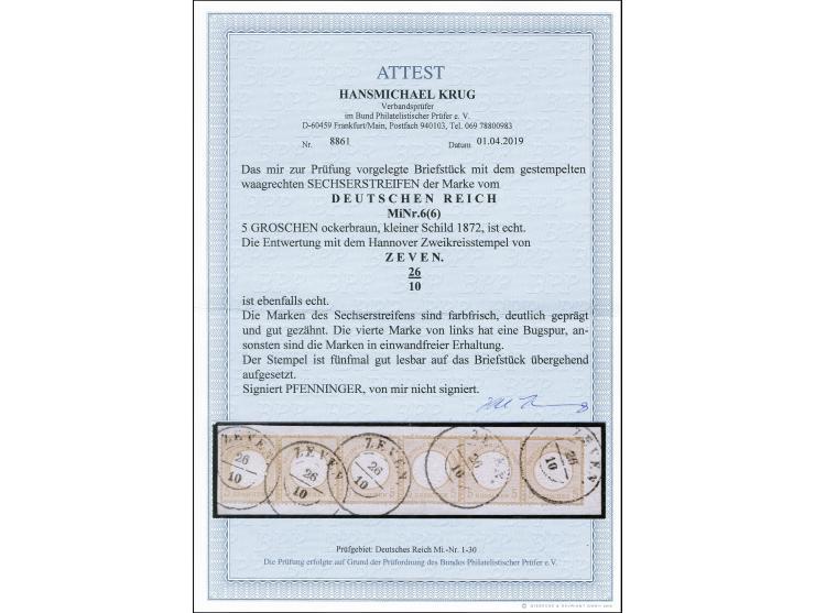 373. Heinrich Köhler Auktion - 2623