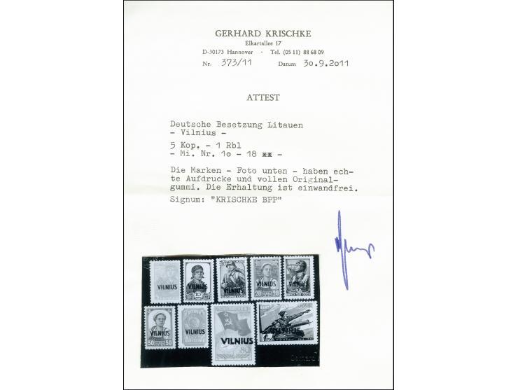 373. Heinrich Köhler Auktion - 1948