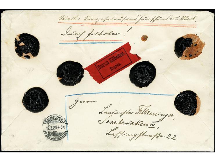 373. Heinrich Köhler Auktion - 1362
